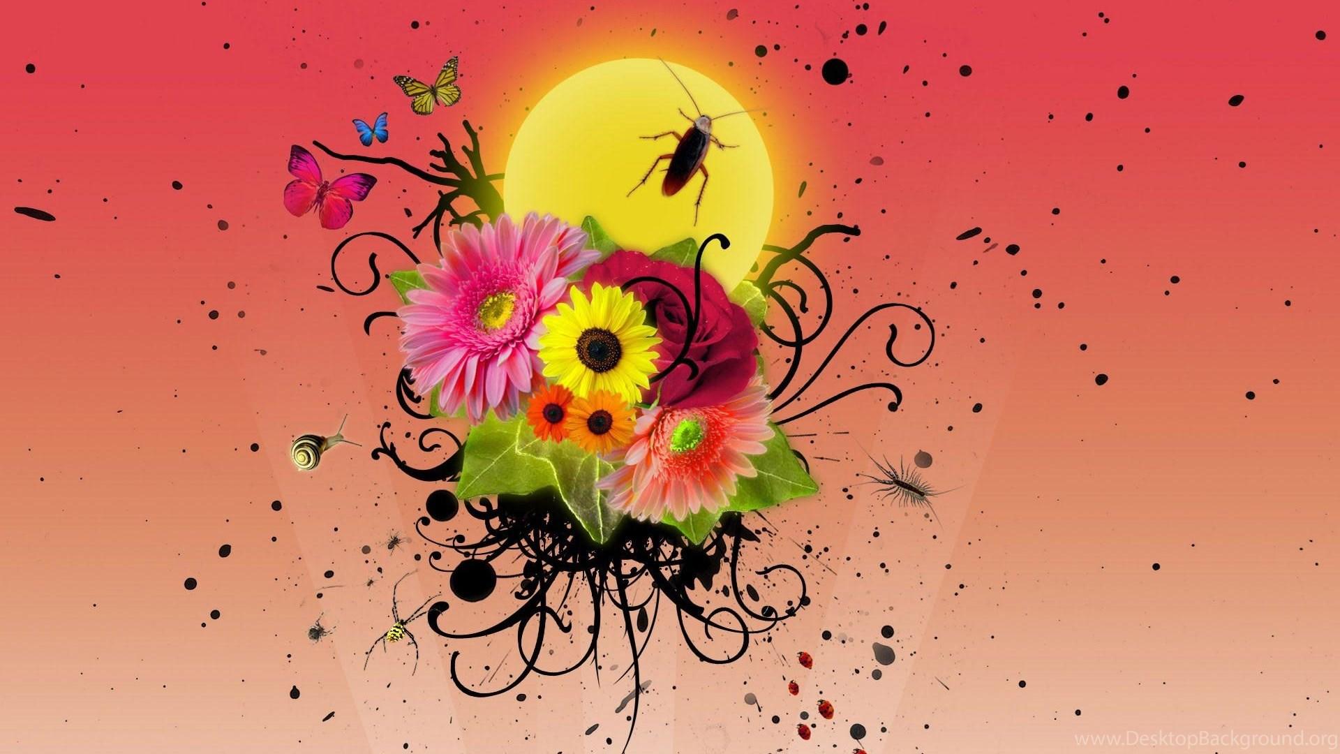 Desktop Wallpapers Gallery Windows 7 Romantic Art Backgrounds