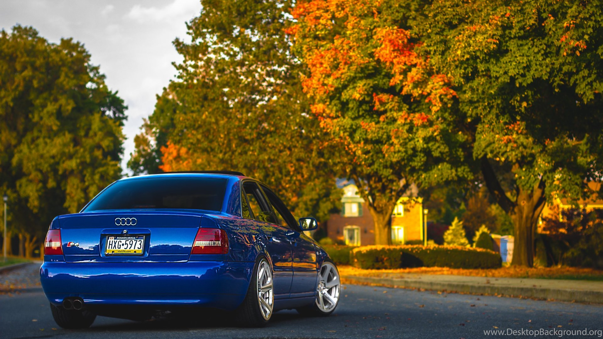 download wallpapers audi a4 b5 blue audi a4 blue