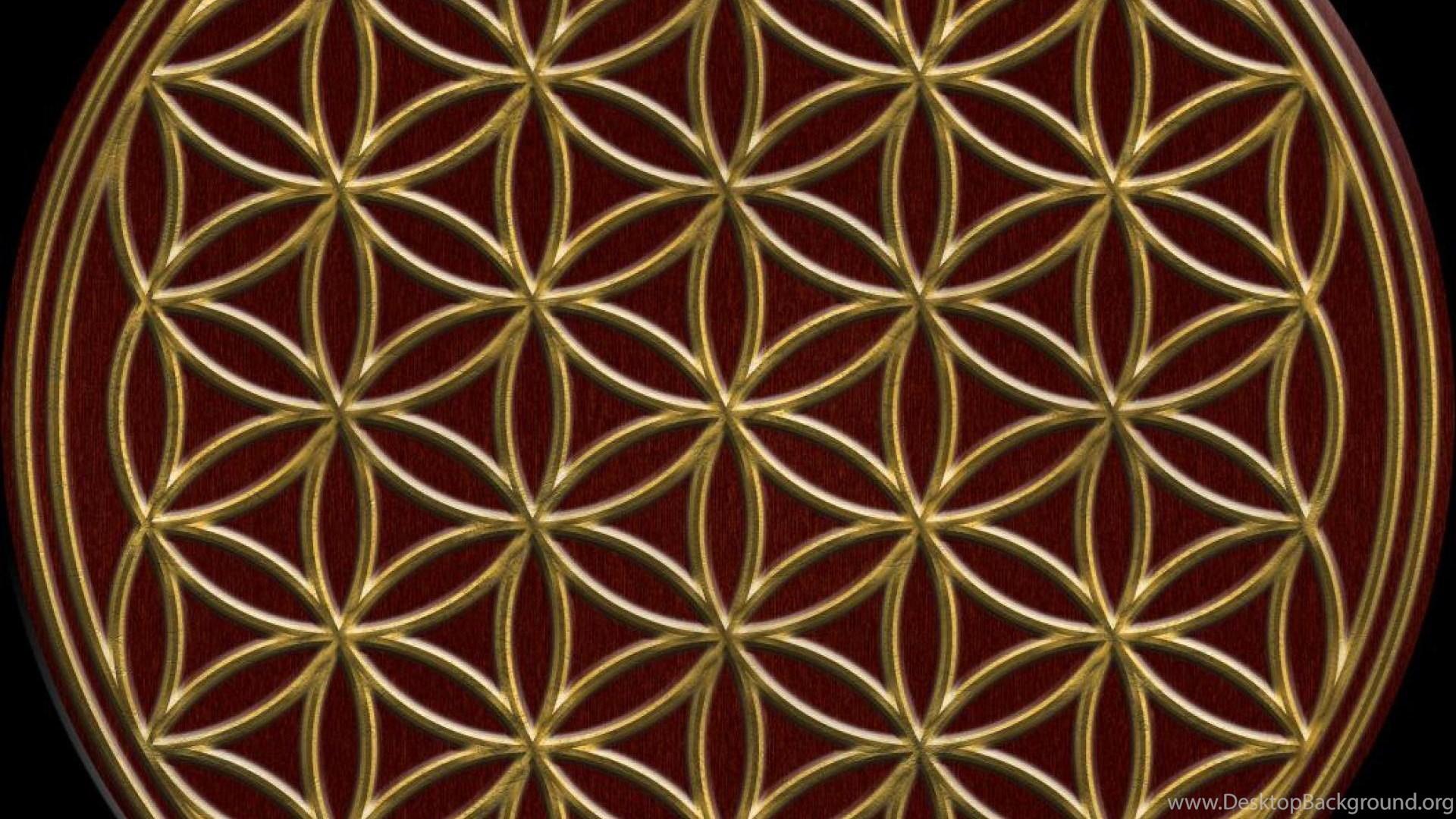 Flower Of Life Desktop Background