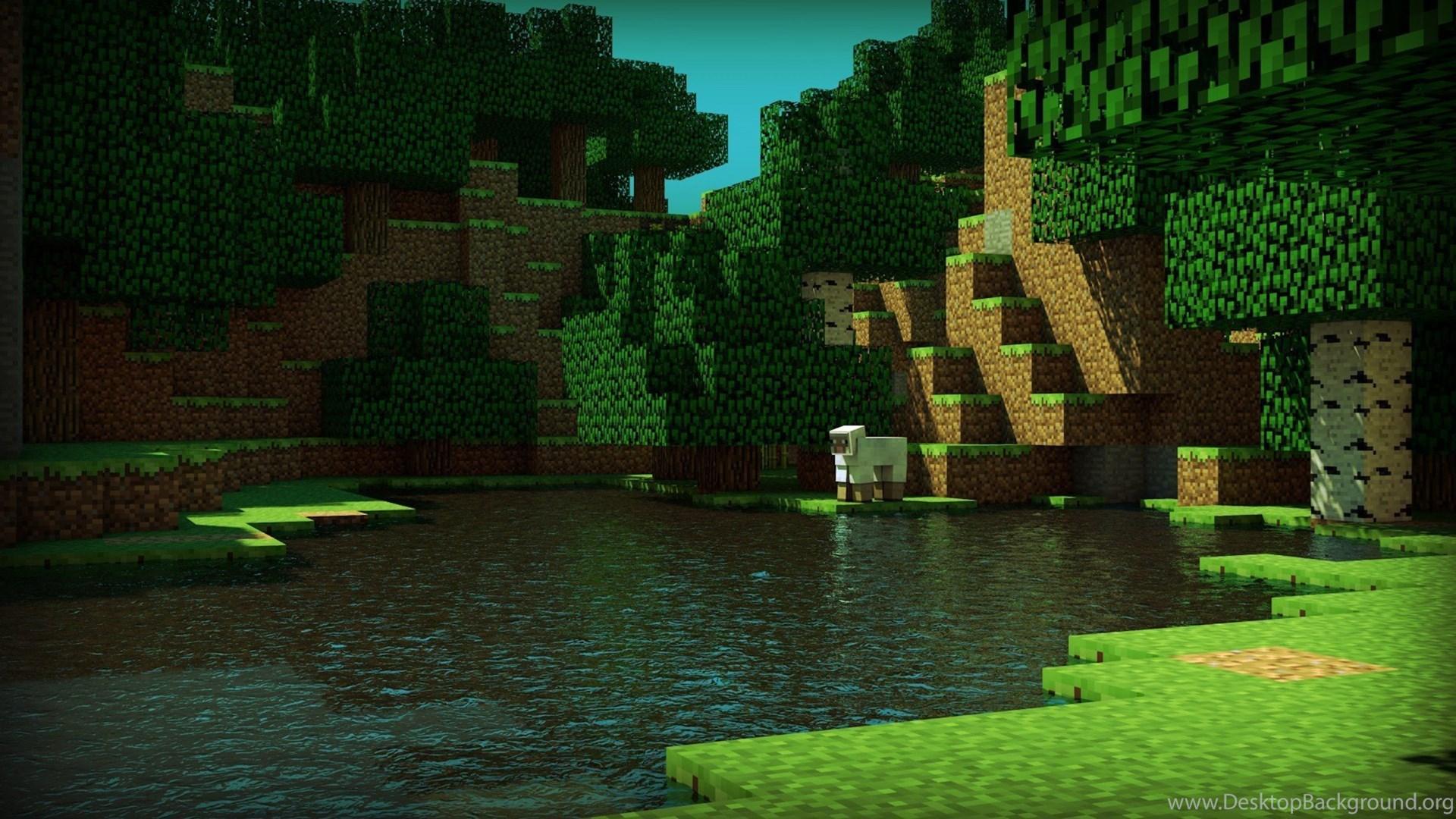 Minecraft Hd Wallpapers Desktop Background