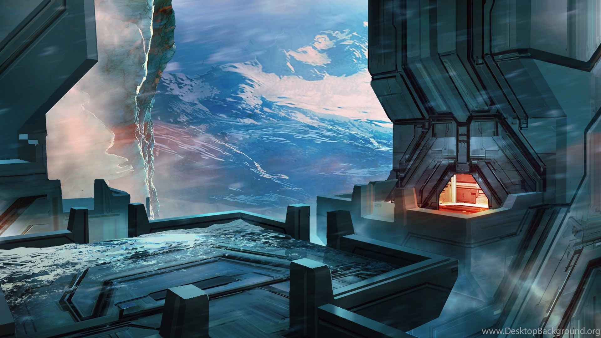 Halo 2 Anniversary Concept Lockout Ice And Fire Hd