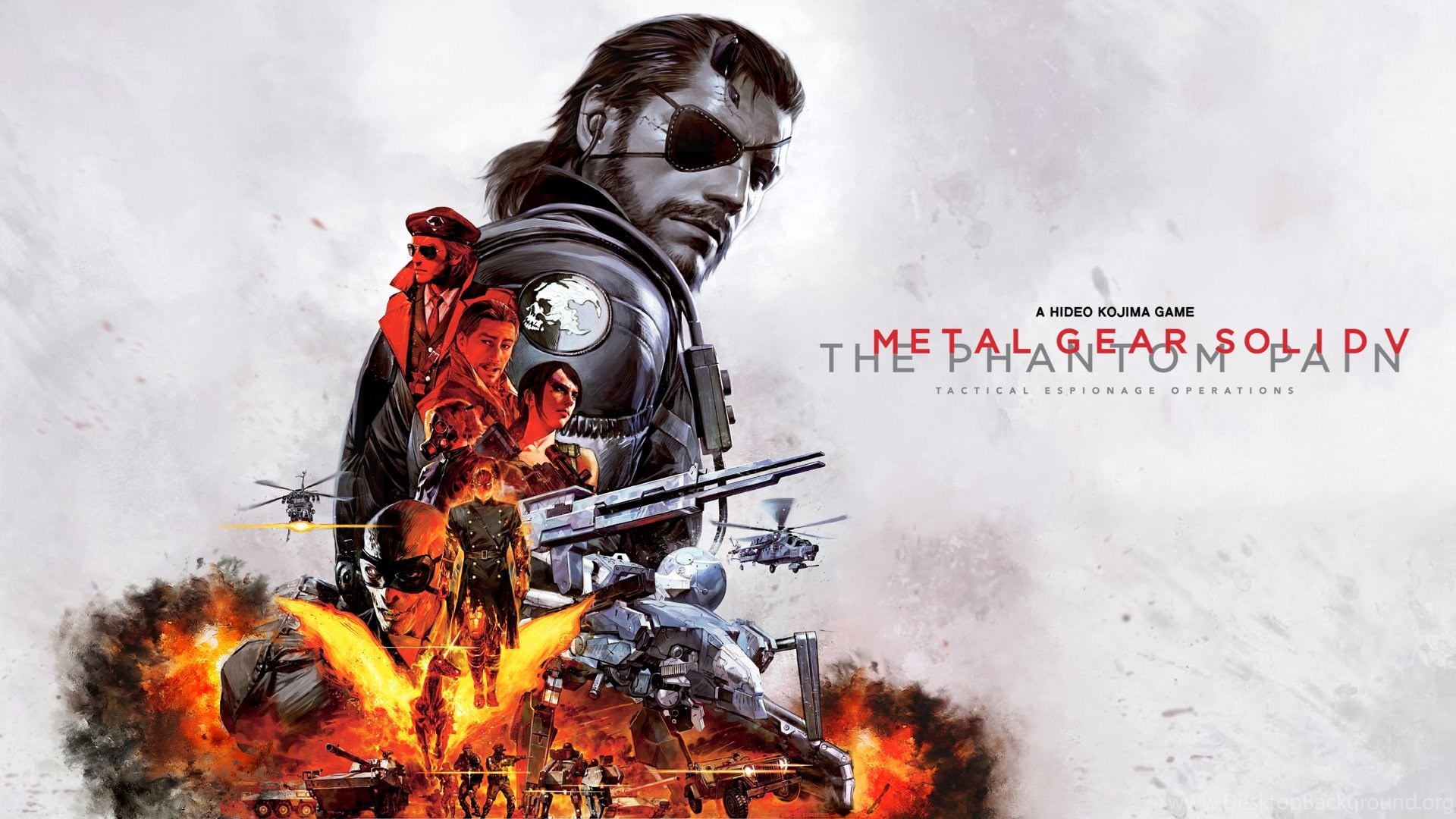 Metal Gear Solid 5 Hd Wallpapers Desktop Background