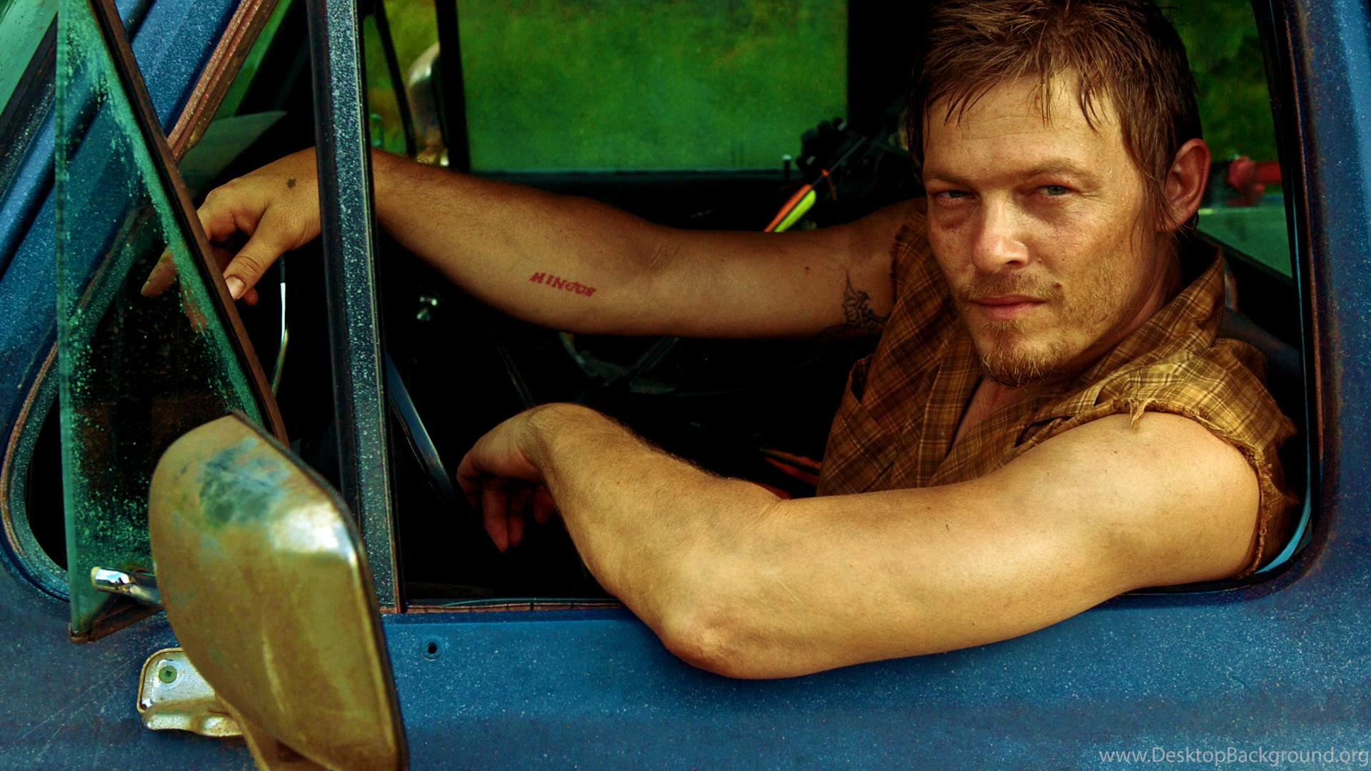 Hd Wallpaper Daryl Dixon The Walking Dead Hd Wallpapers Desktop