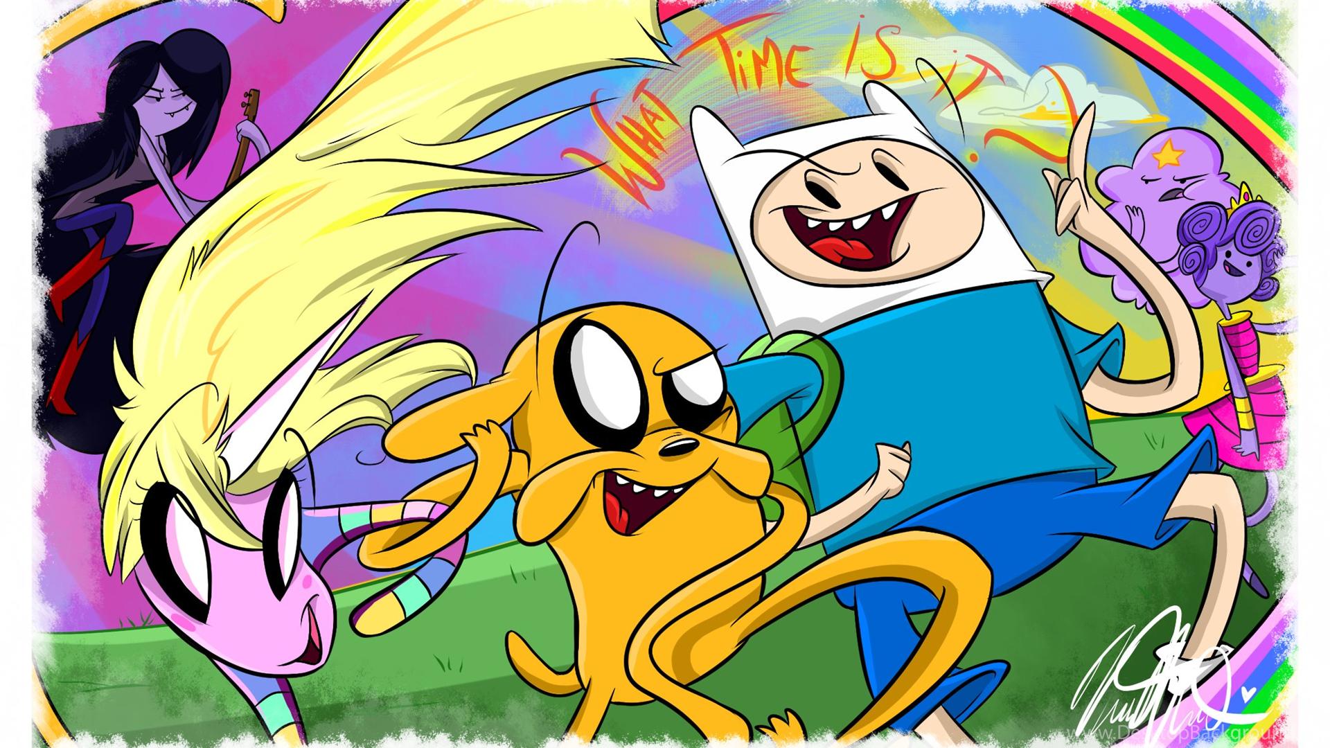126 Adventure Time HD Wallpapers Desktop Background
