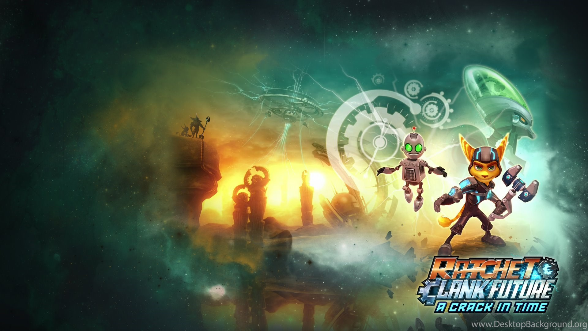 1 Ratchet Clank Future A Crack In Time Hd Wallpapers