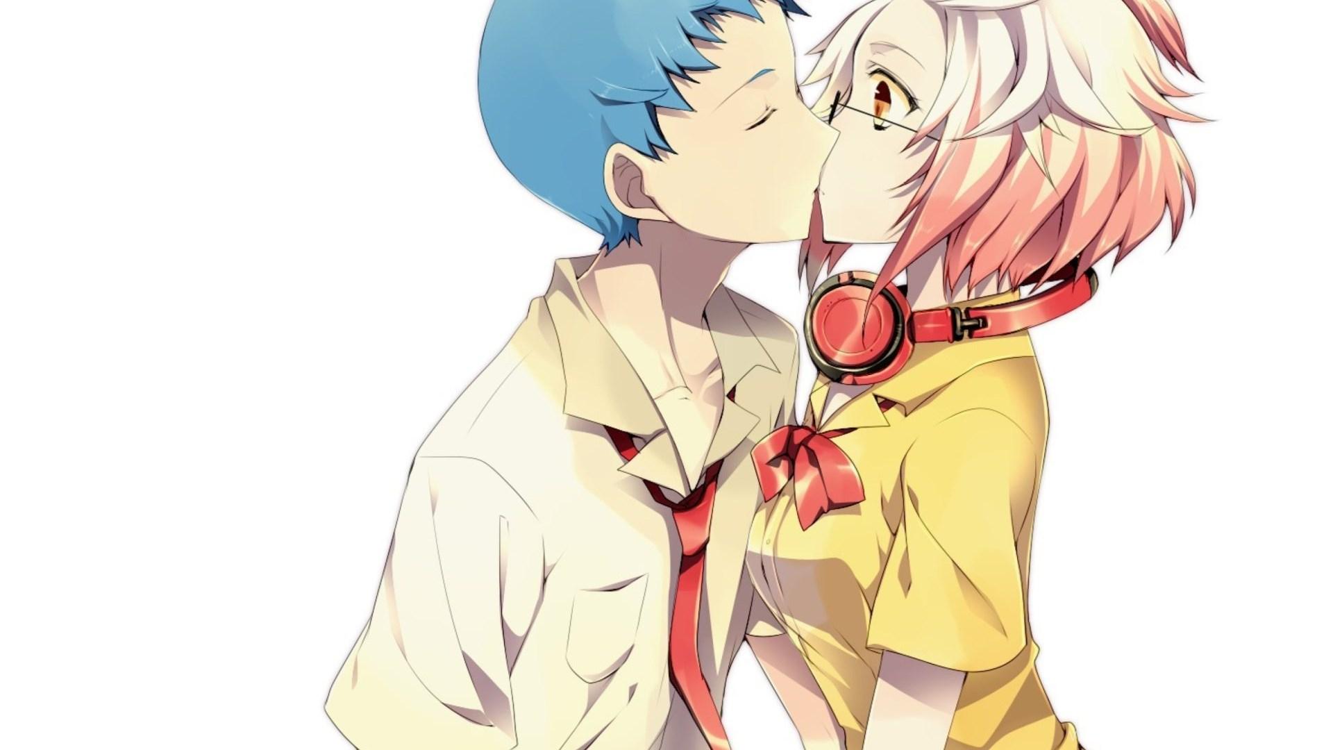 Anime Kiss Wallpapers For LG Nexus 5 Desktop Background