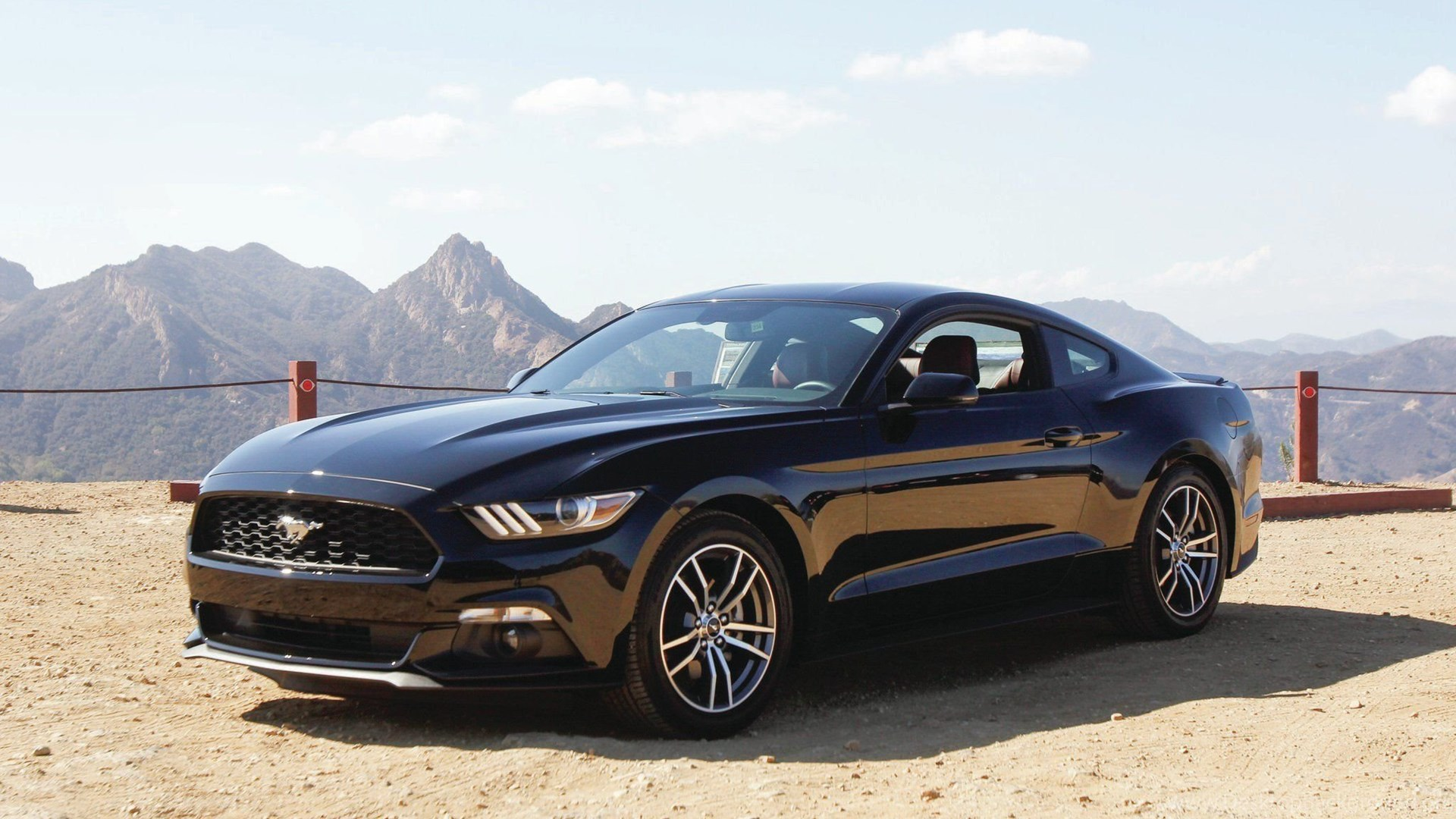 2015 Ford Mustang Black HD Desktop Backgrounds Wallpapers Attachment