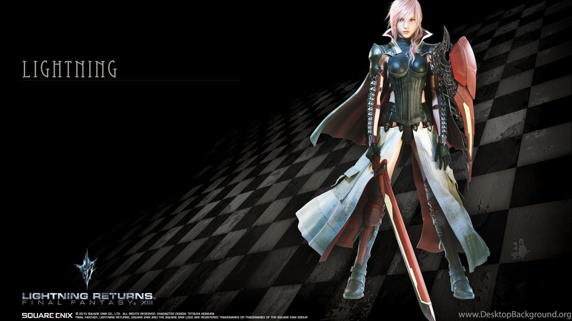 Lightning Returns Final Fantasy Xiii Wallpapers Hd Desktop