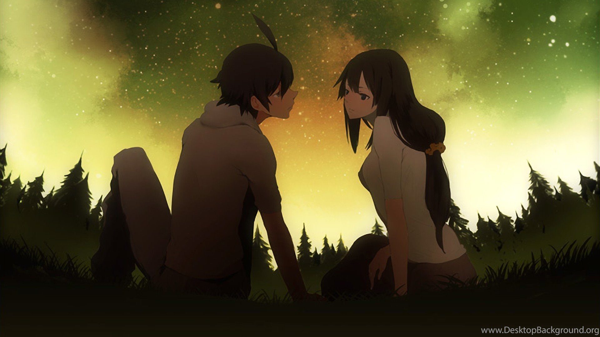 Anime Couple Wallpaper 4k - Anime Wallpaper HD