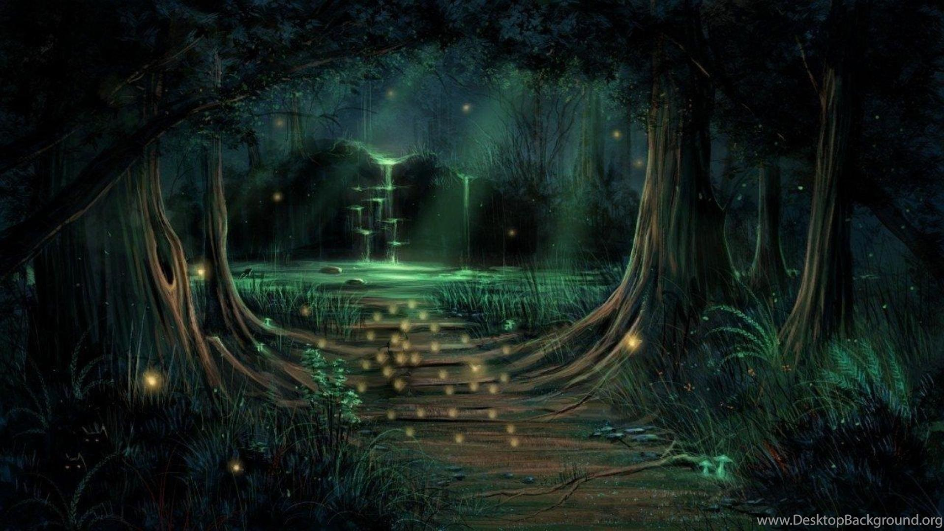 enchanted fairy forest - HD1920×1080