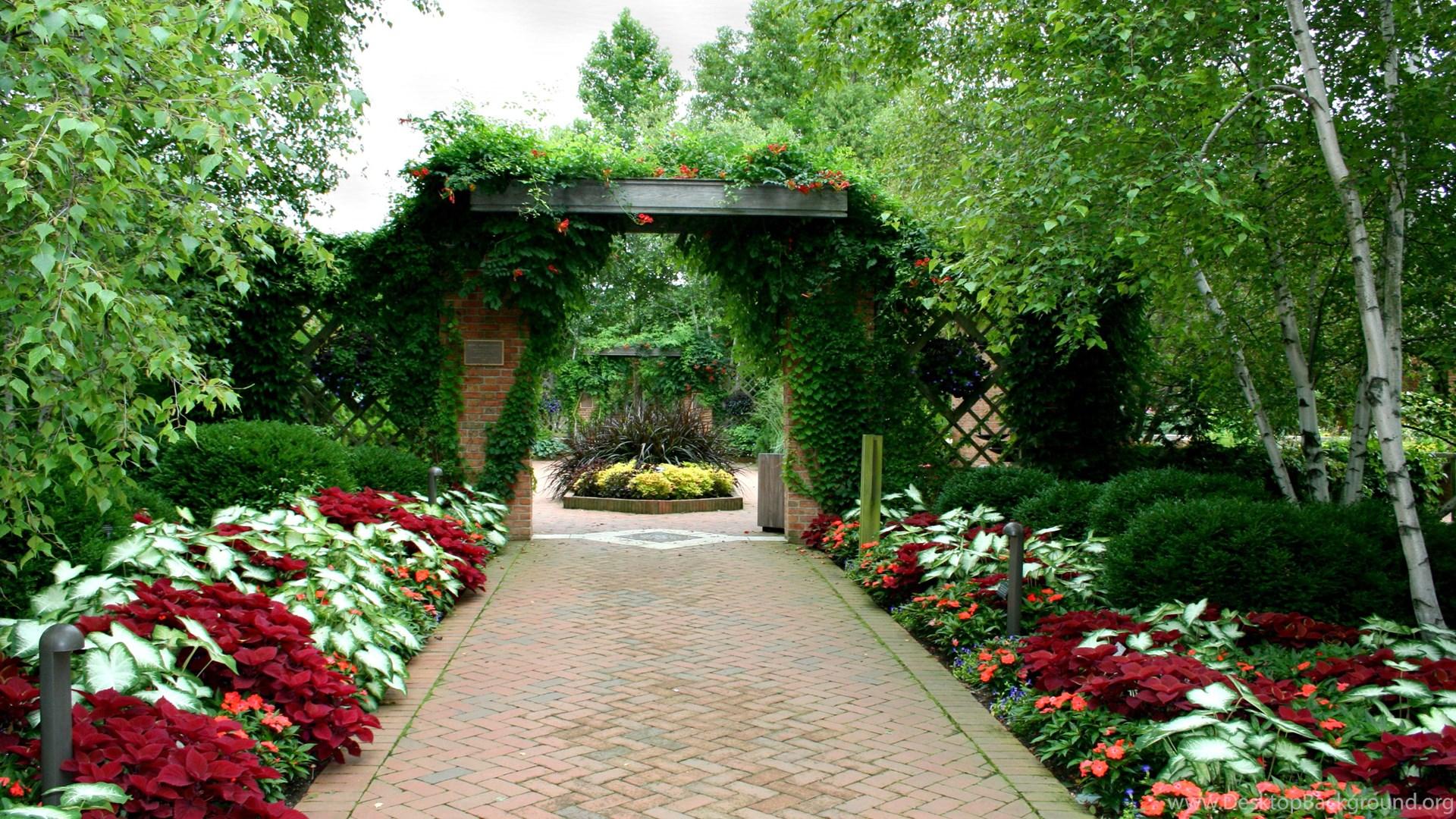 Beautiful, Garden, Design, Beautiful, Garden, HD ...