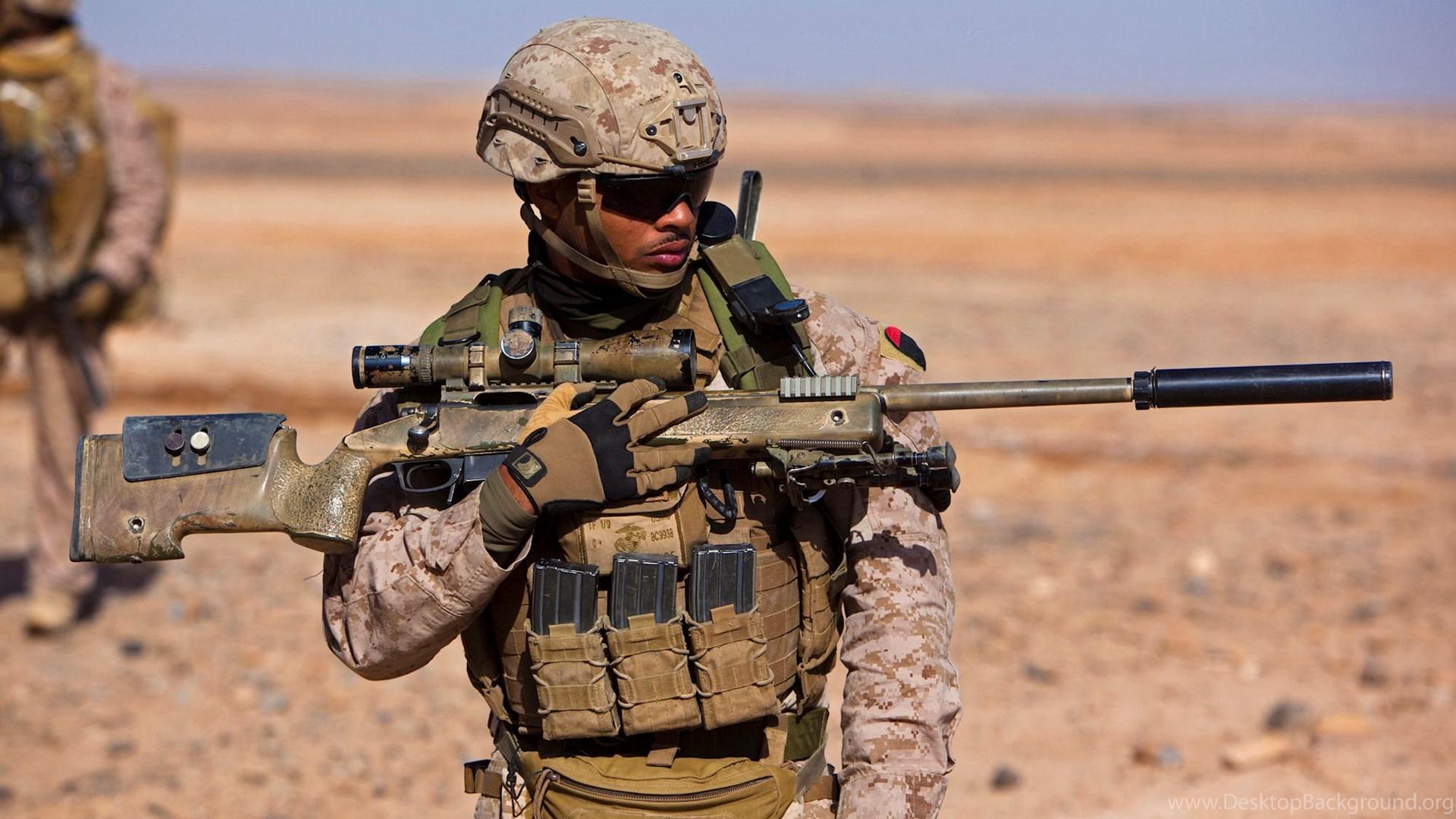 Usmc Scout Sniper Wallpapers Desktop Background