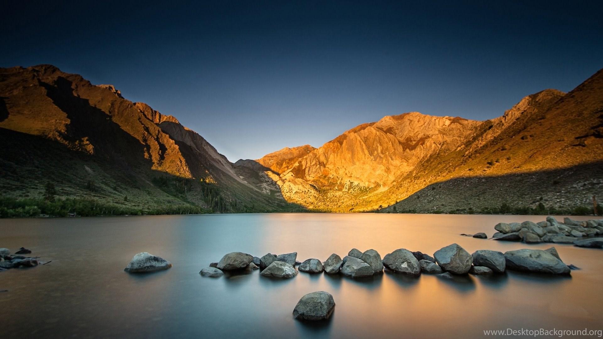 Mountain Sunrise Wallpaper Desktop Background