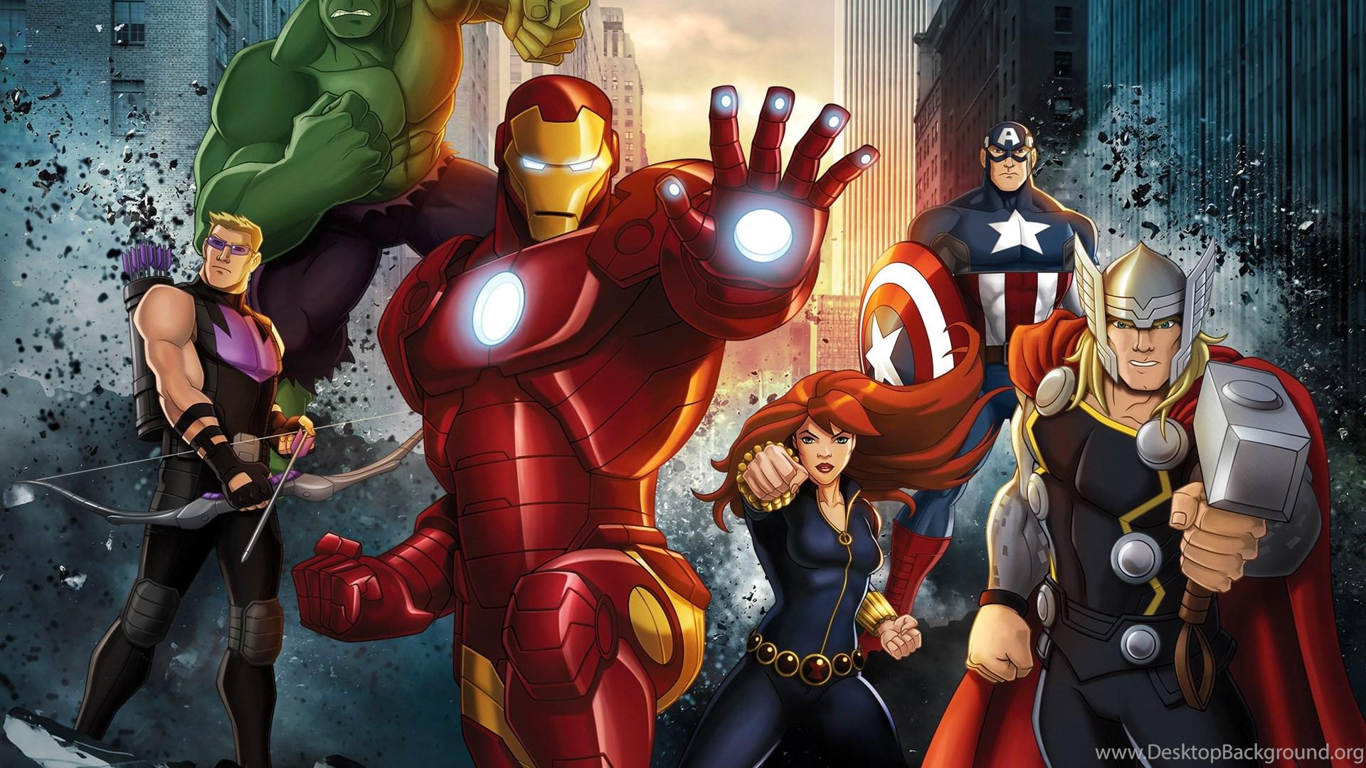 Marvel Avengers Assemble Avengers Wallpapers Hd Desktop Background