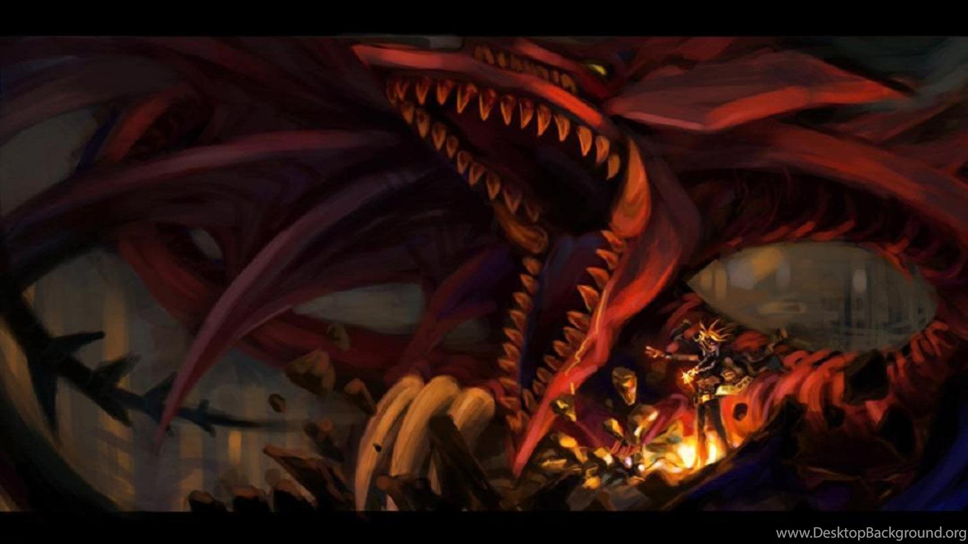 Wallpaper Slifer The Sky Dragon Video Games Yugi Yu Gi Oh