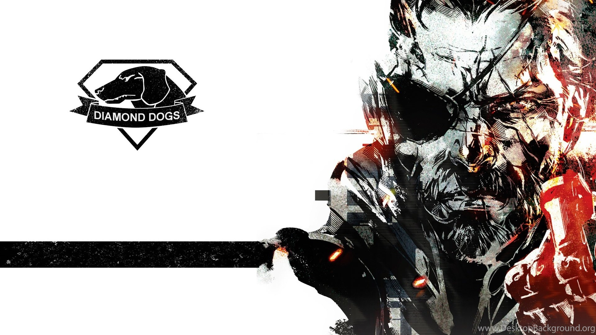 Big Boss Diamond Dogs Metal Gear Solid Wallpapers Hd Video Game