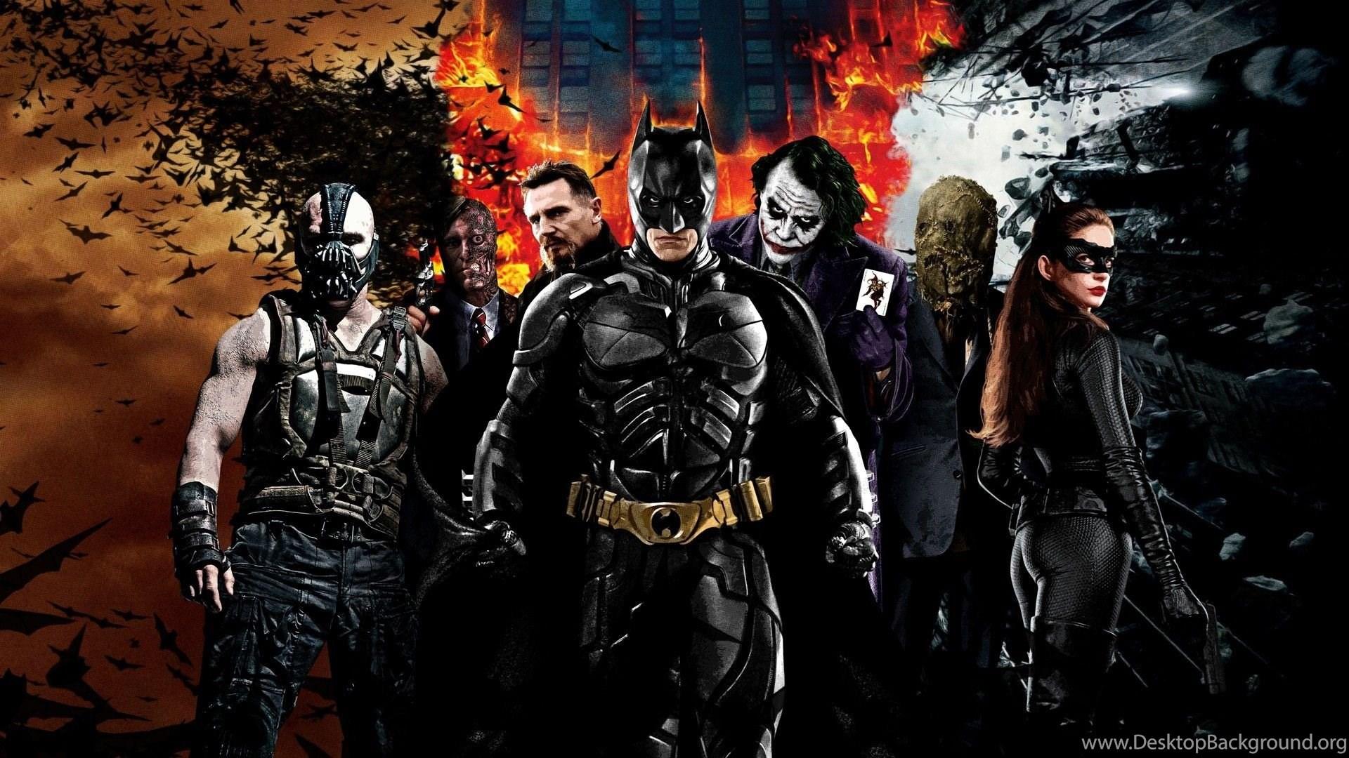 batman the dark knight returns themes