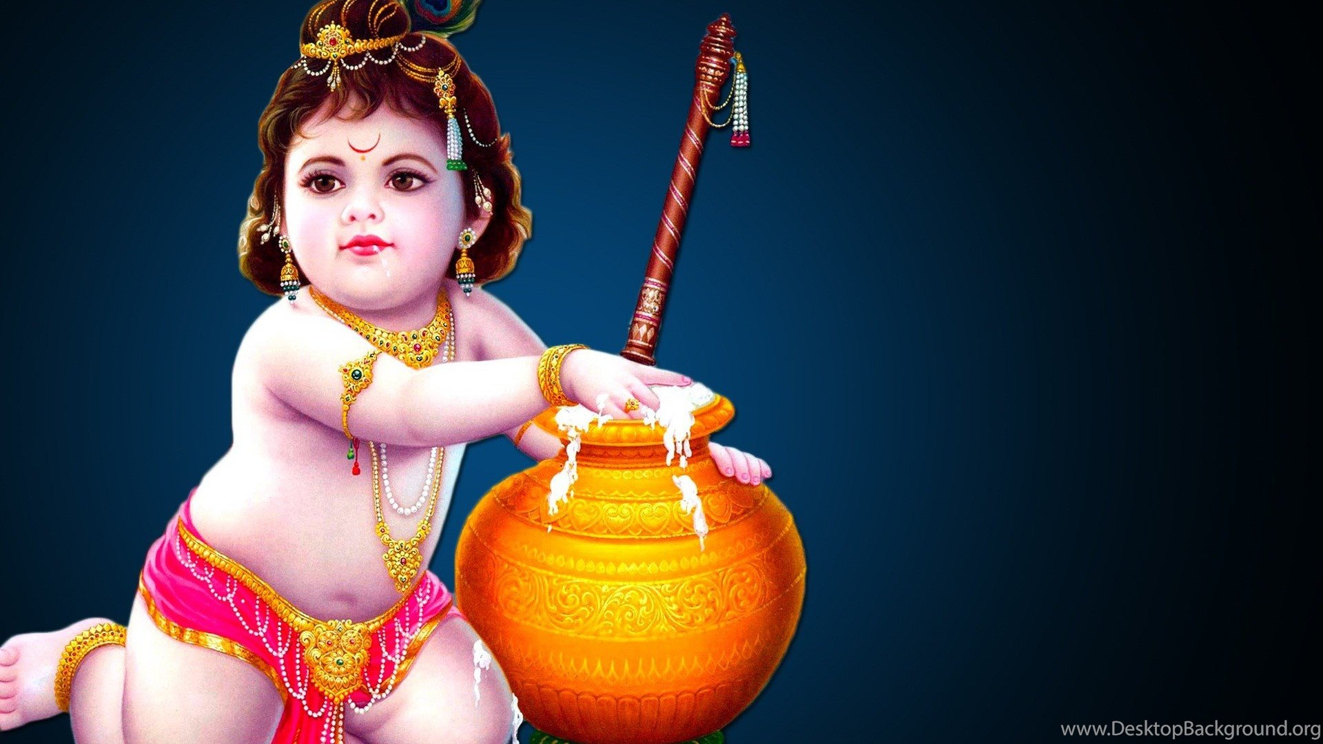 Lord Krishna Wallpapers Bal Gopal Jamnashtami Greetings Desktop