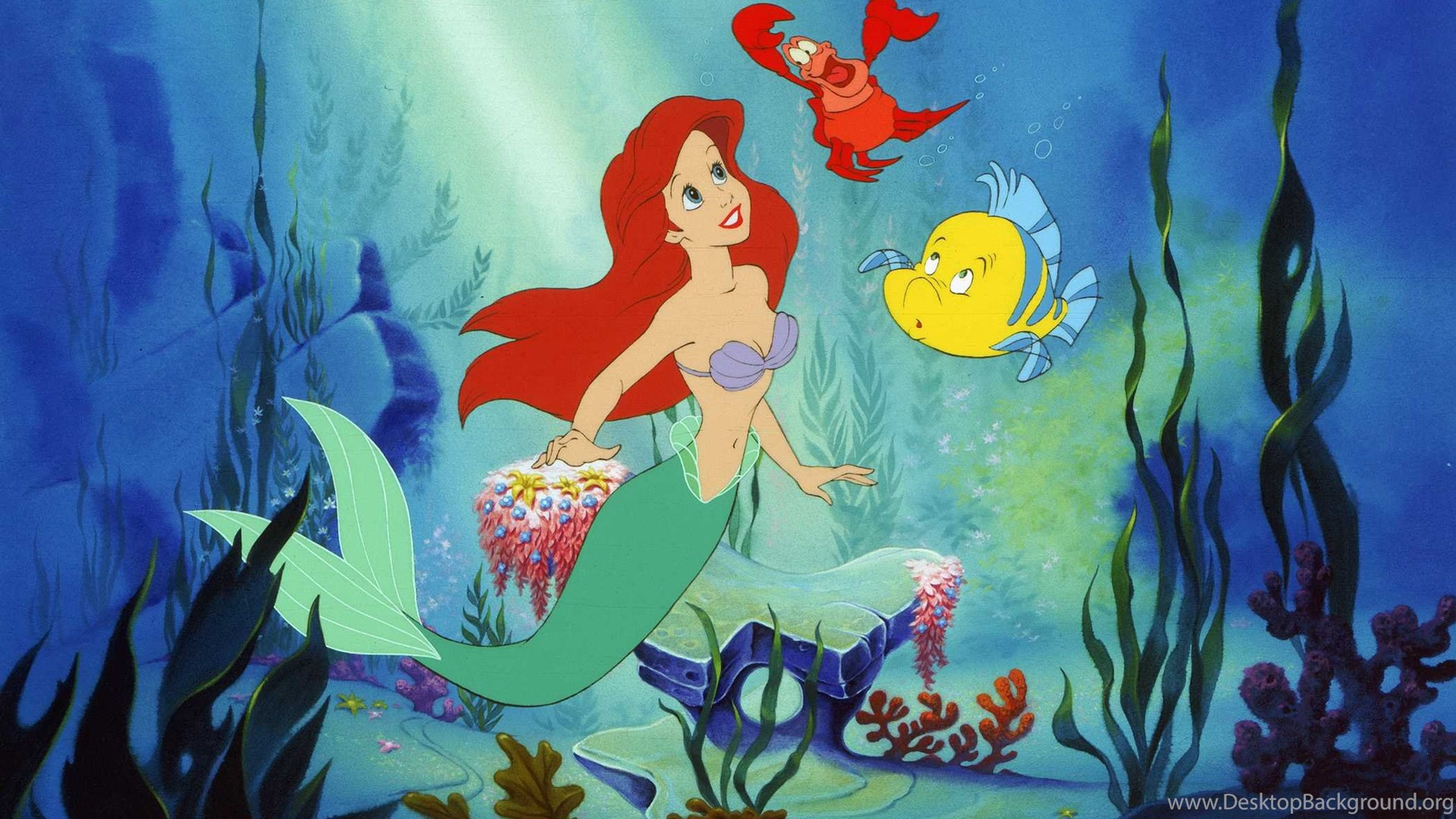 Little Mermaid Wallpapers Hd 9574 Hd Wallpapers Site Desktop Background