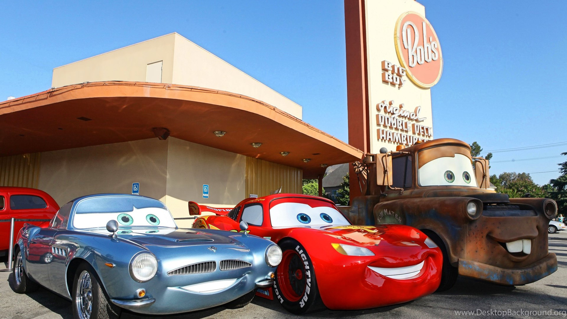 Cars Movie Wallpapers Desktop Background