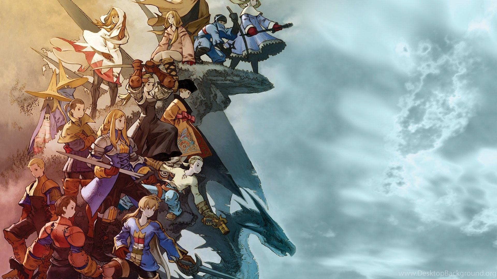 Hd Final Fantasy Tactics Wallpapers Desktop Background