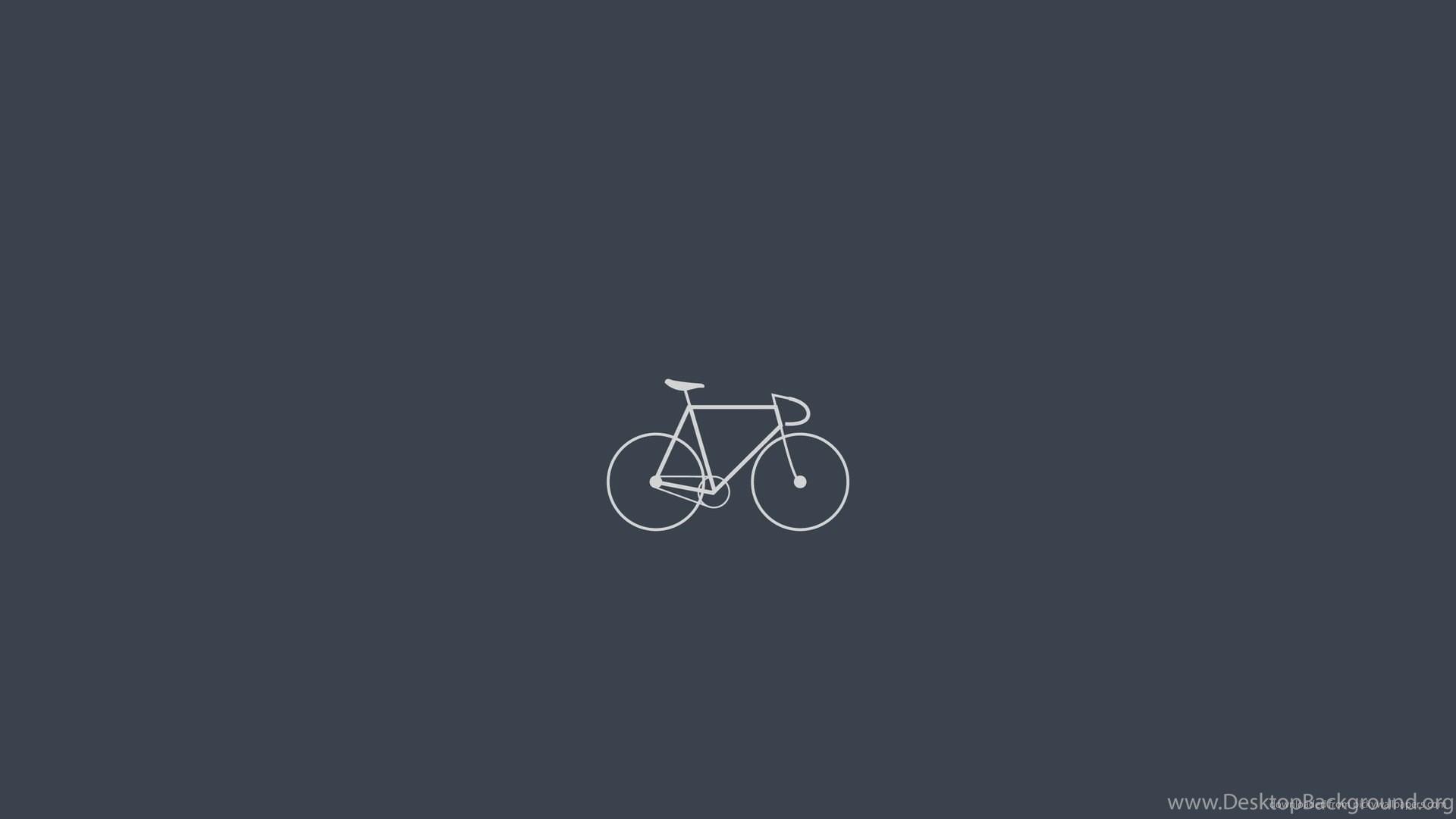 Download 1920x1080 Minimalistci Fixed Gear Bike Wallpapers Desktop