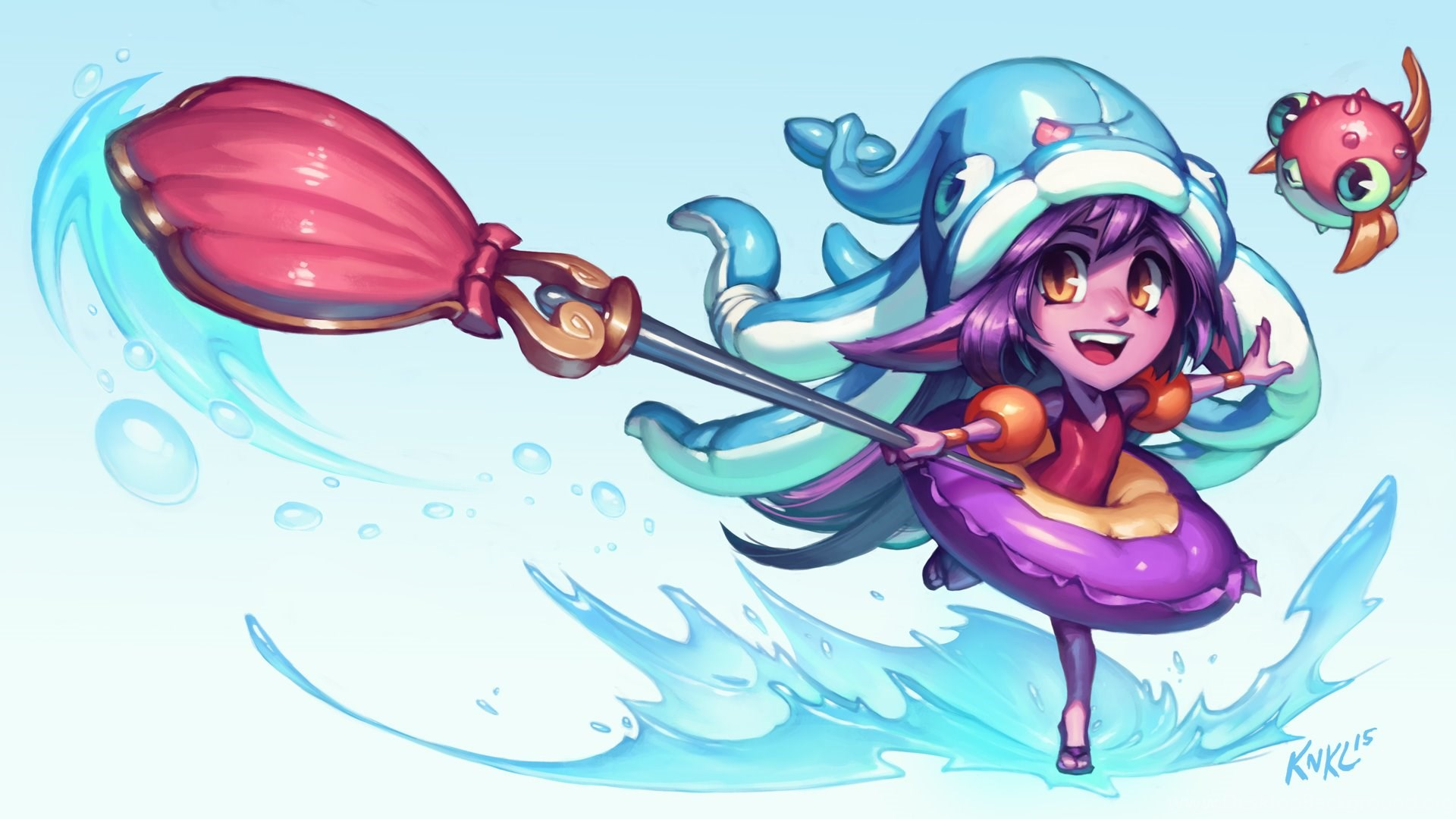 Pool Party Lulu League Of Legends With Video By Knkl On