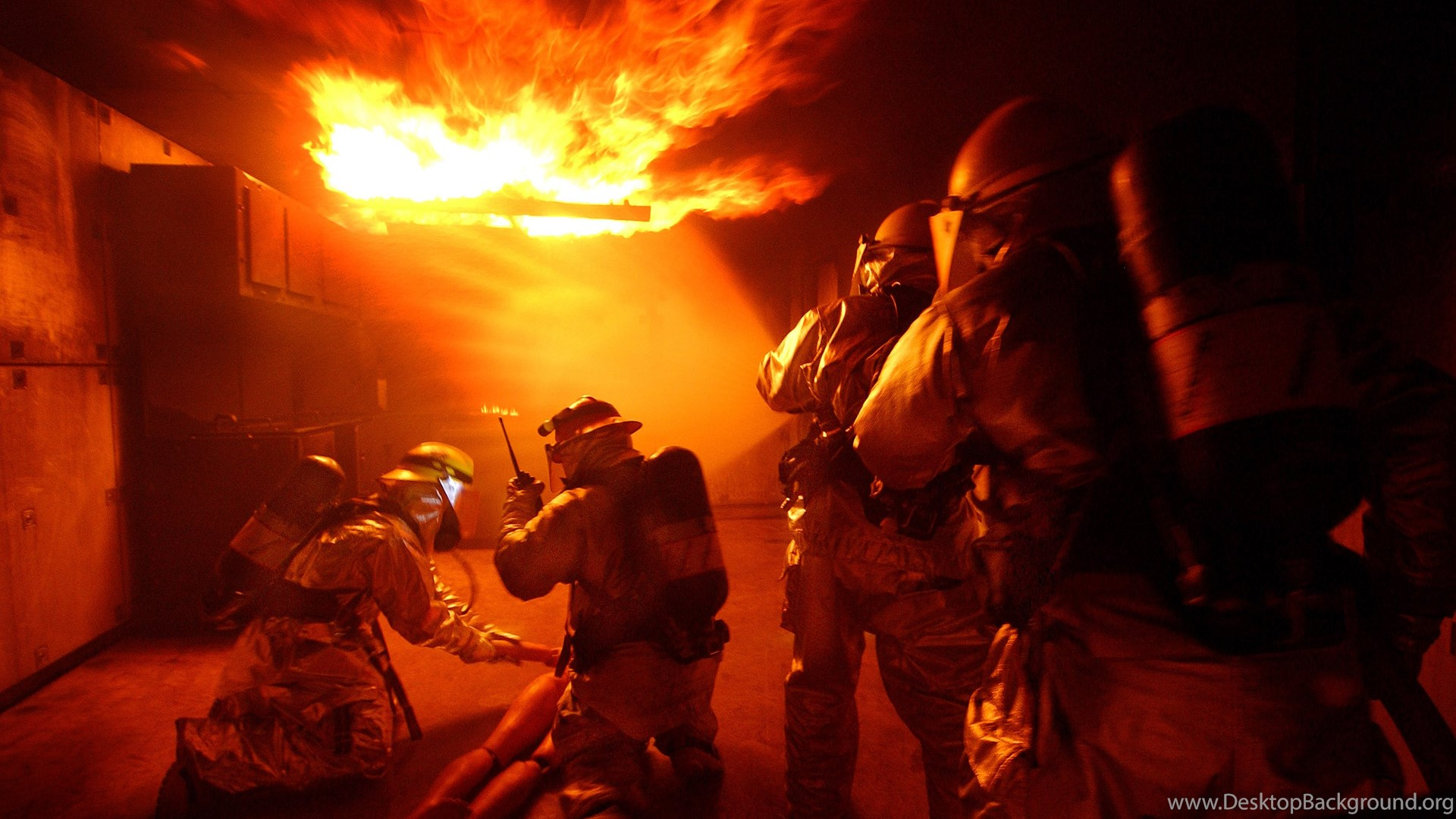 the life and responsibilities of a firefighter