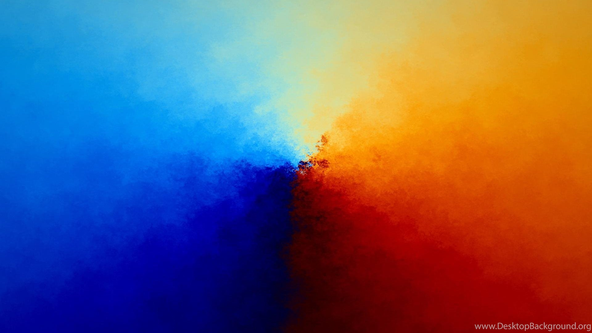 Color Mix Wallpaper,orange HD Wallpaper,blur HD Wallpaper