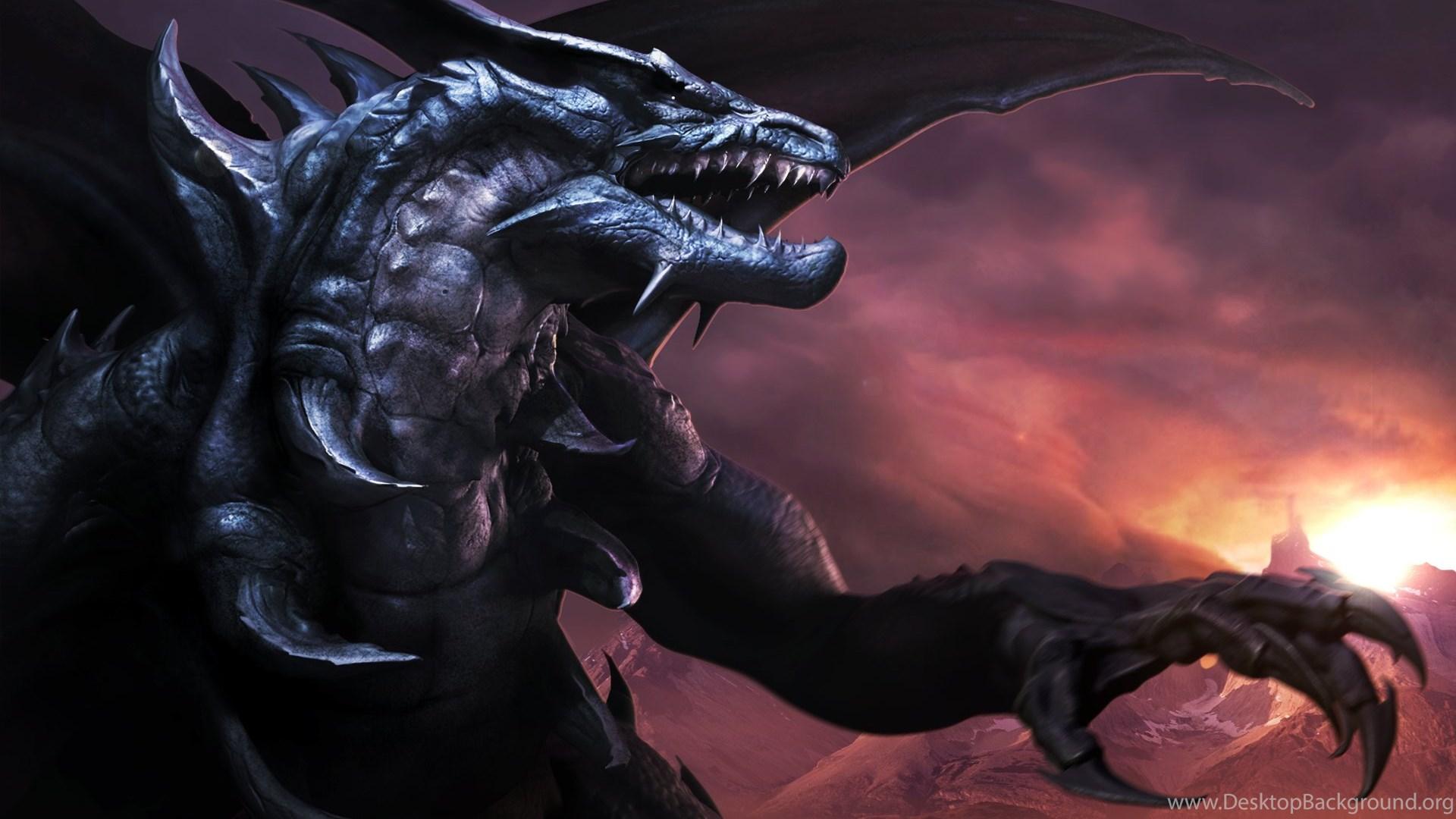 High Resolution Fantasy Black Dragon Wallpapers HD 12 Full Size