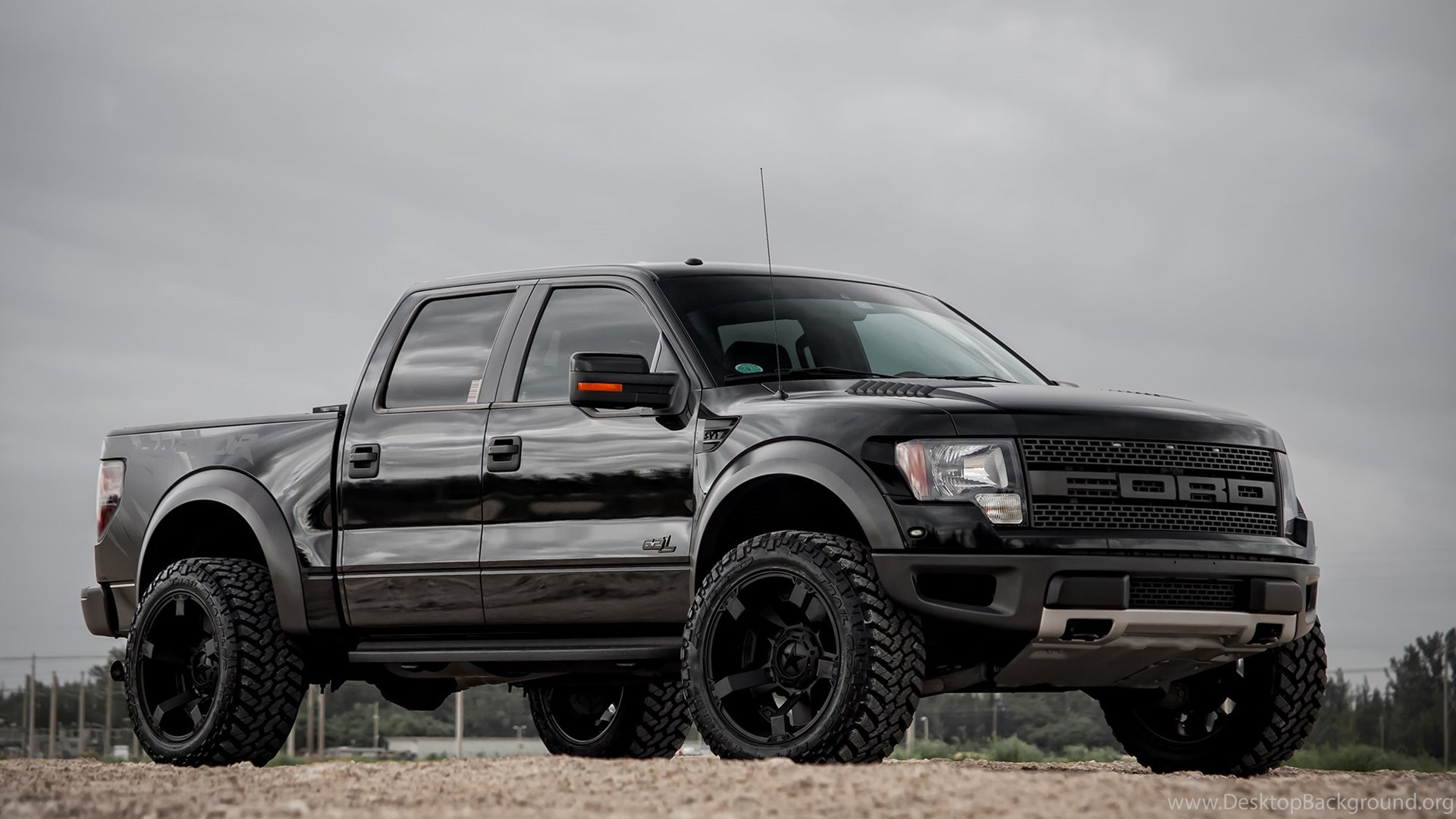 Black Ford Raptor Ford F 150 Raptor Wallpapers Johnywheels Desktop