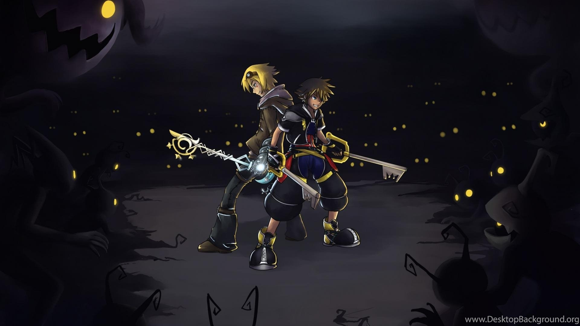 Kingdom Hearts League Of Legends Ezreal Dangerous Sora Wallpapers