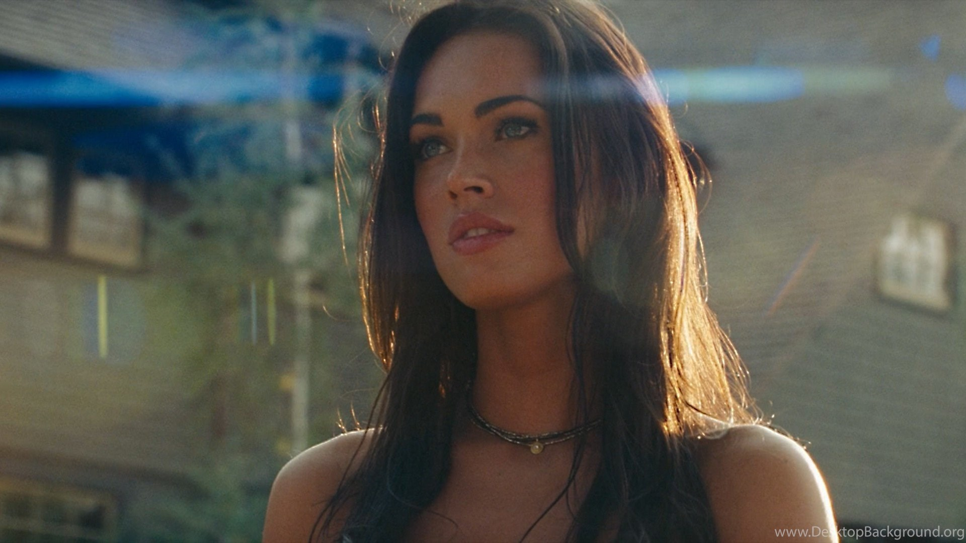 Megan Fox Transformers Desktop Background