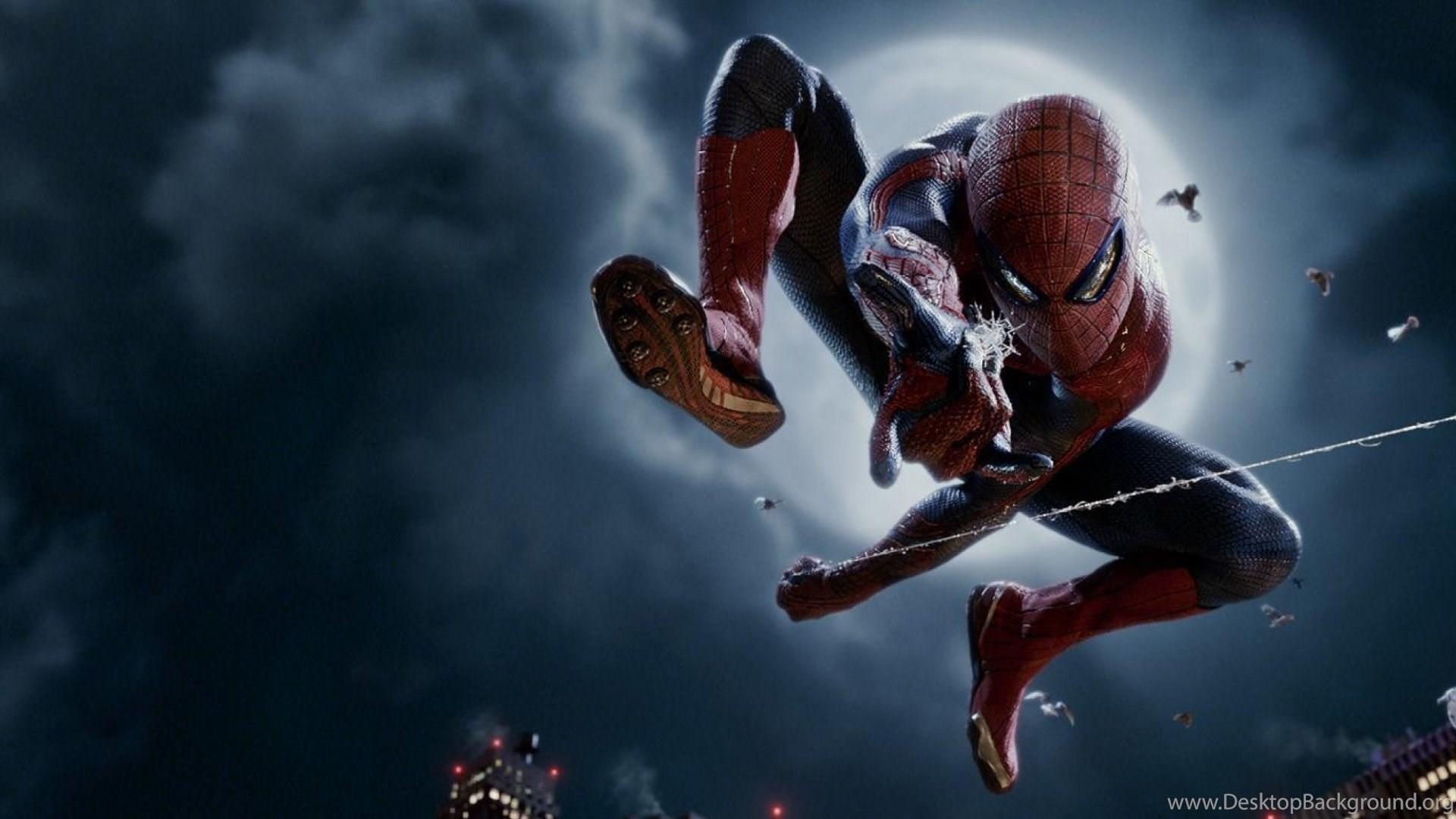HD Spiderman Superhero Wallpaper Backgrounds Full Size Desktop