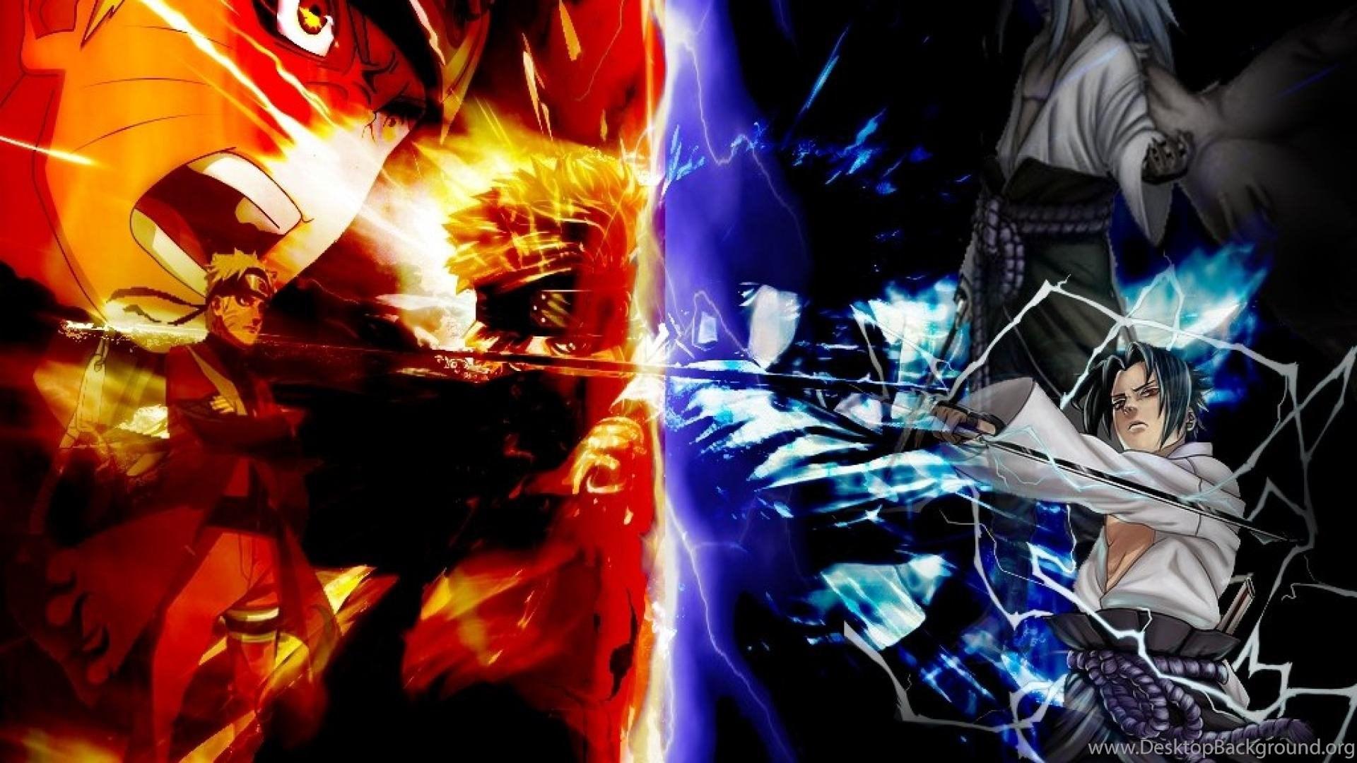 Naruto Vs Sasuke Naruto Wallpapers Shippuden Desktop Background