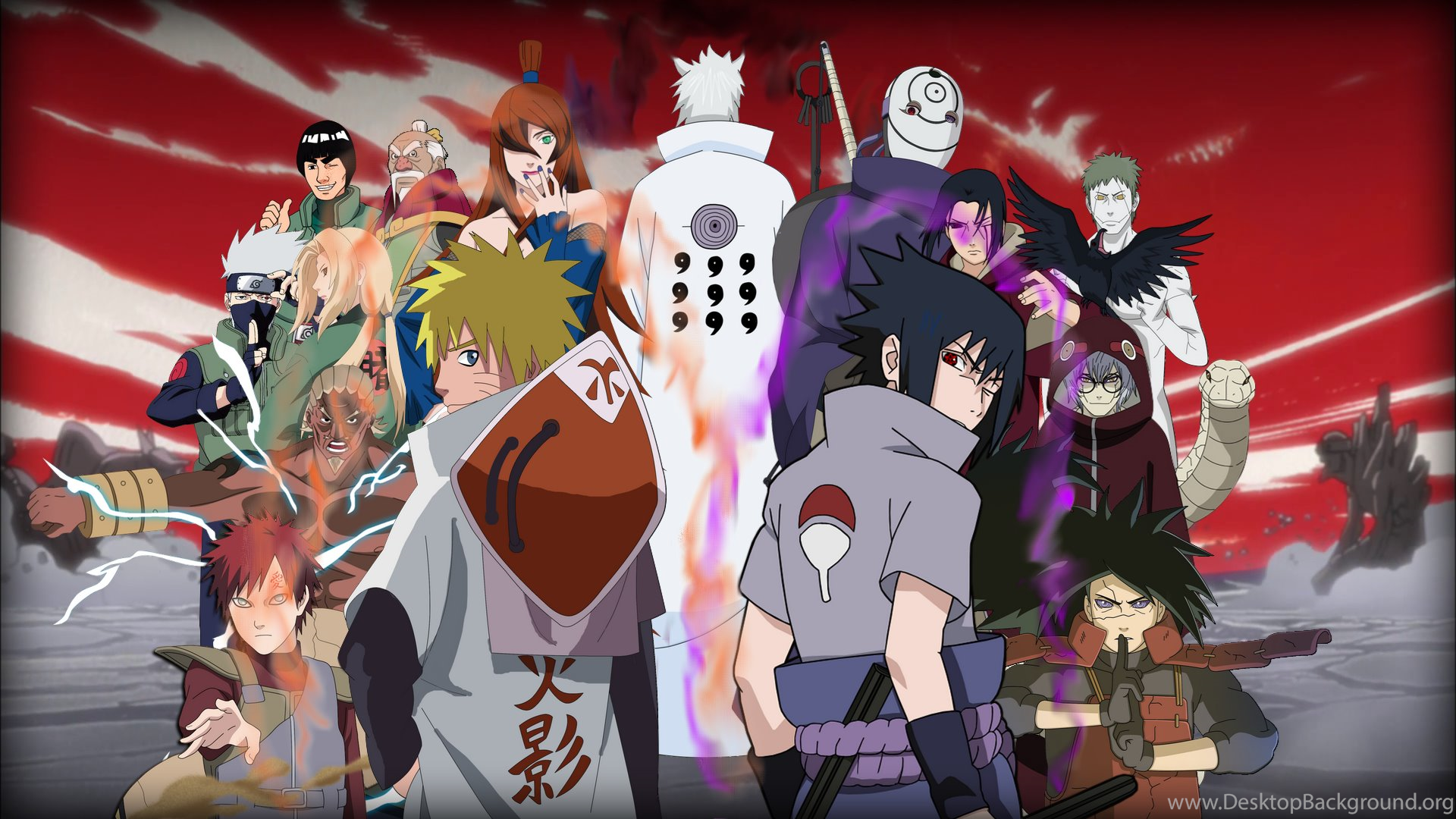 Gambar Wallpapers Naruto Keren Desktop Background