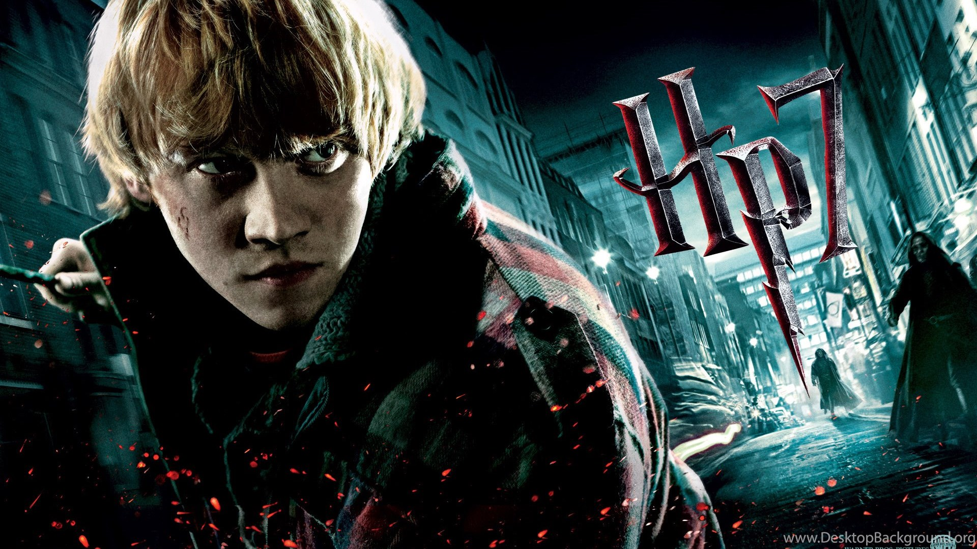Rupert Grint In Harry Potter And The Deathly Hallows Wallpapers