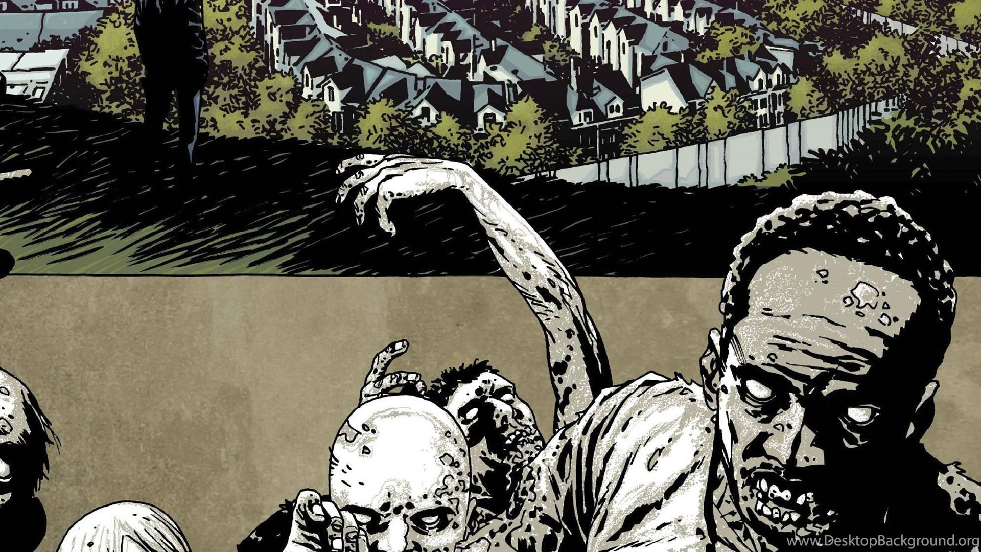 Walking Dead Image Comics Gs Wallpapers Desktop Background