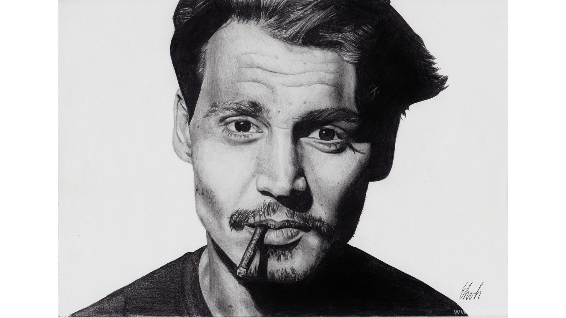 Creative 4K Johnny Depp Wallpapers Desktop Background