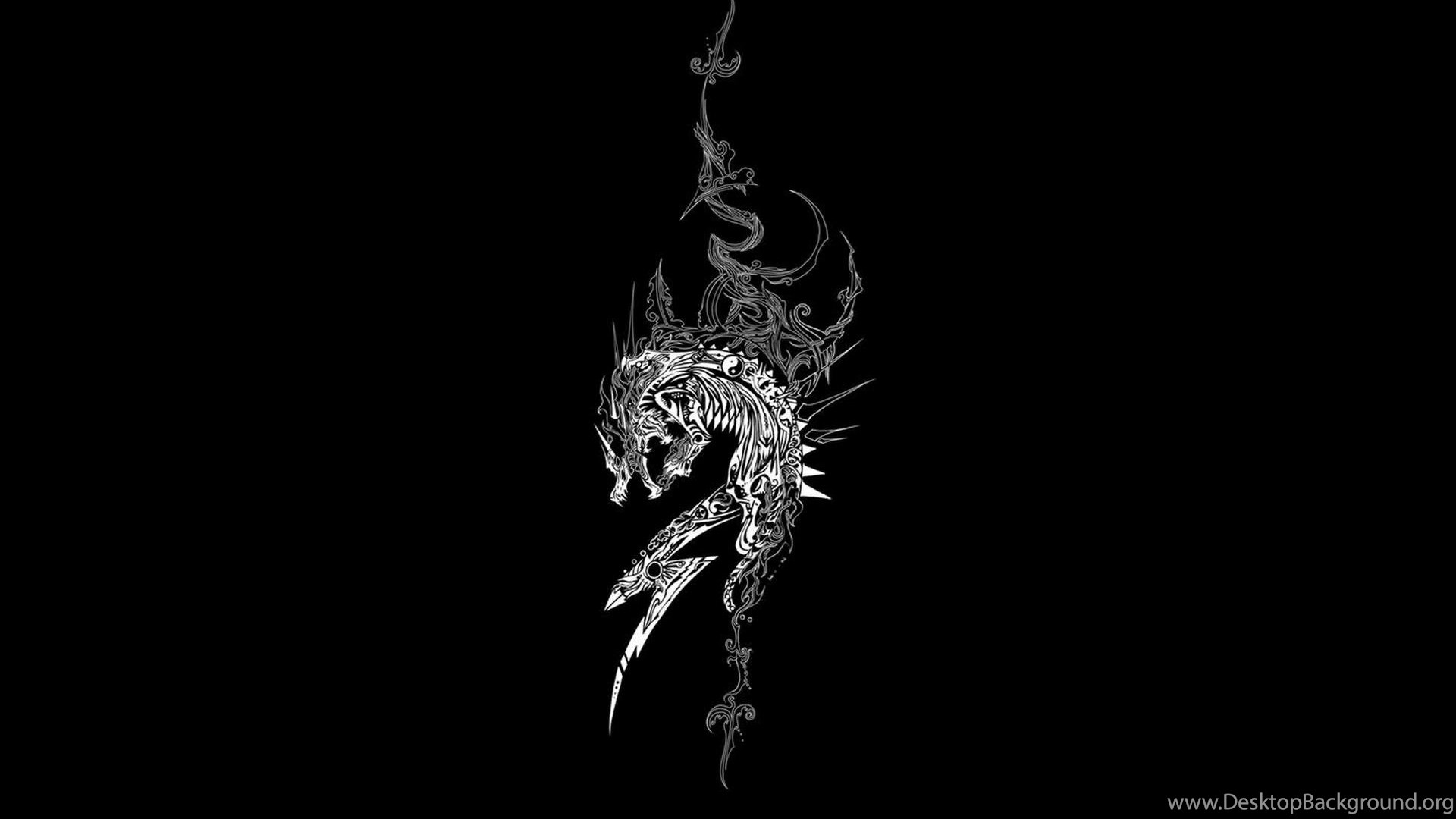 Lion Black And White Wallpapers Full Hd Desktop Background