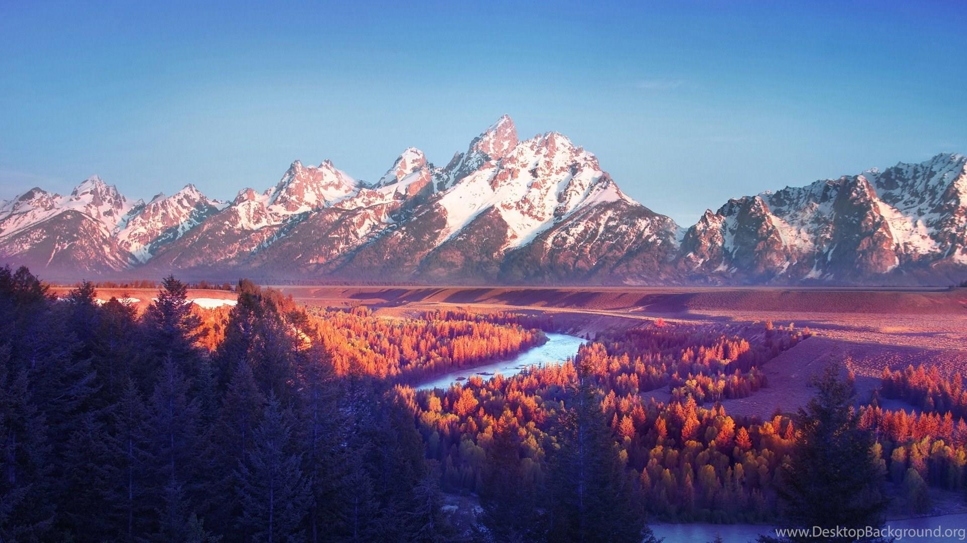 Cool And Beautiful Nature Desktop Wallpaper Image: High Resolution Beautiful Nature Mountain Landscape