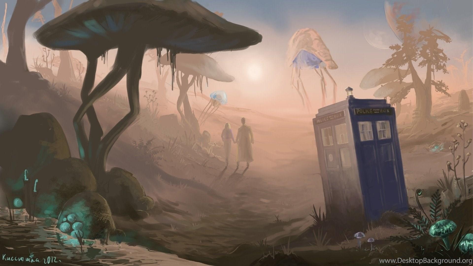 Doctor Who Morrowind Tardis Funny Eye 1920x1080 Hd Wallpapers