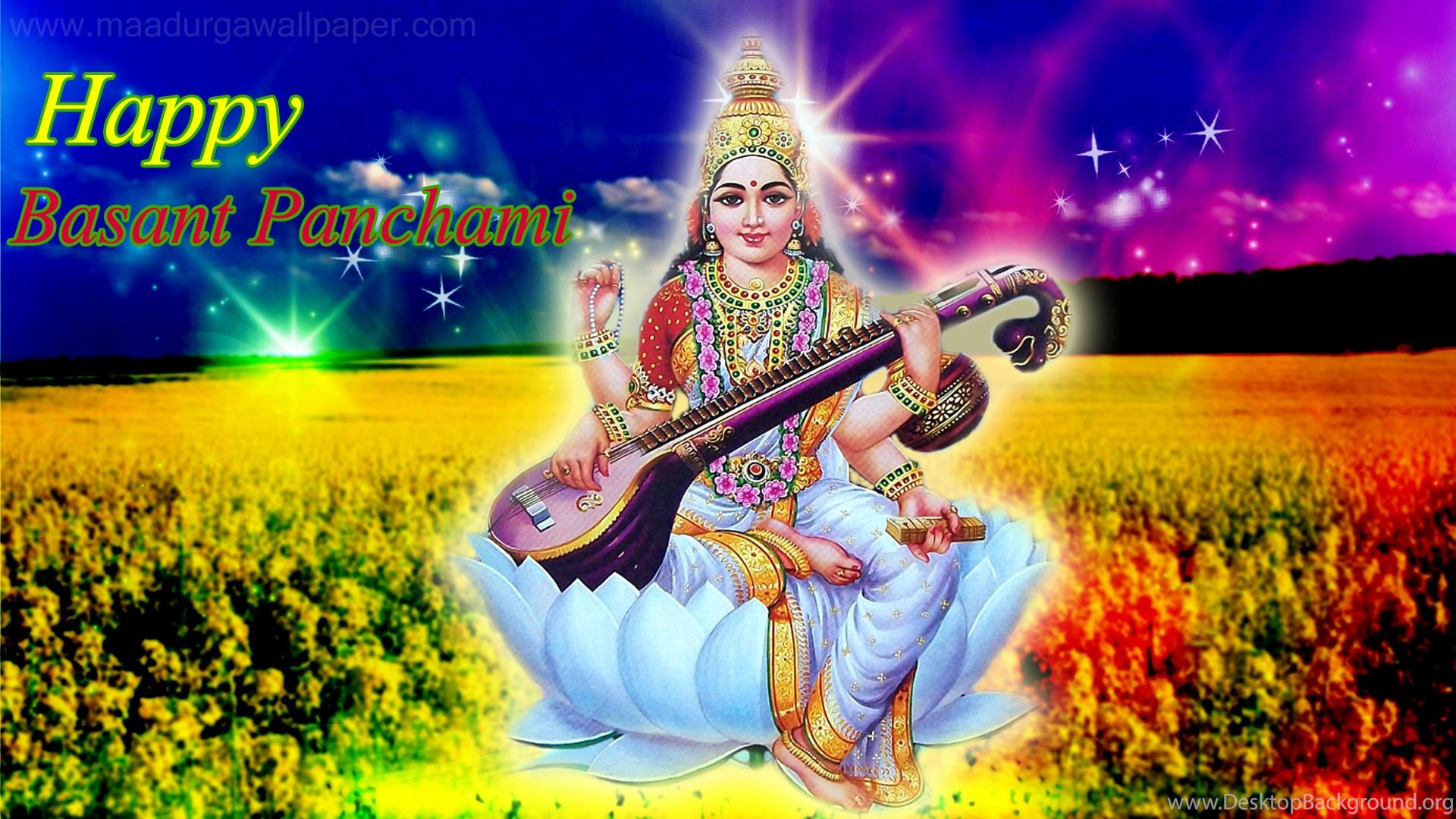 Maa Saraswati Wallpaper Images Photos Free Download Desktop
