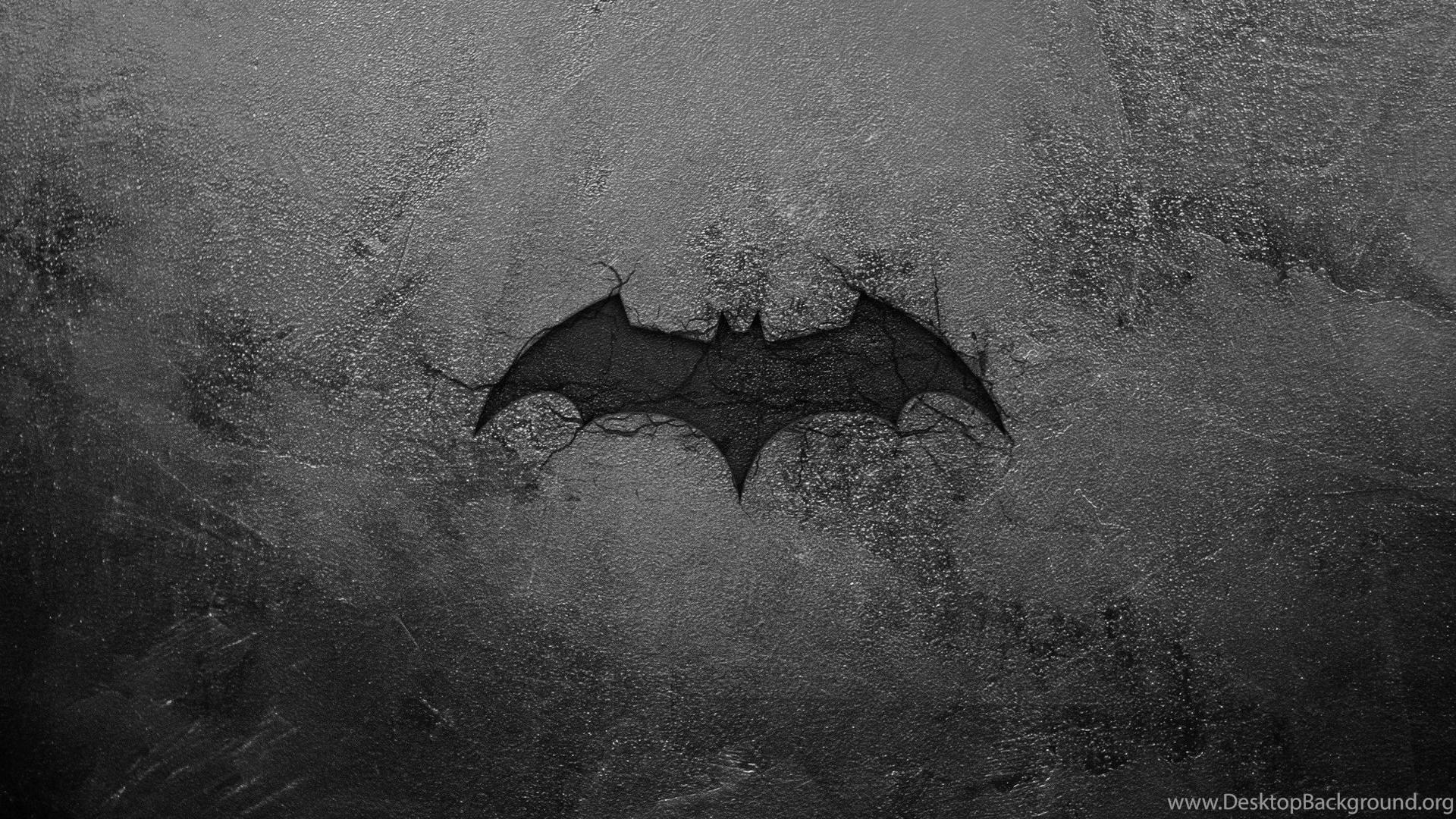 Batman Logo, Black, Batman Wallpapers HD / Desktop And
