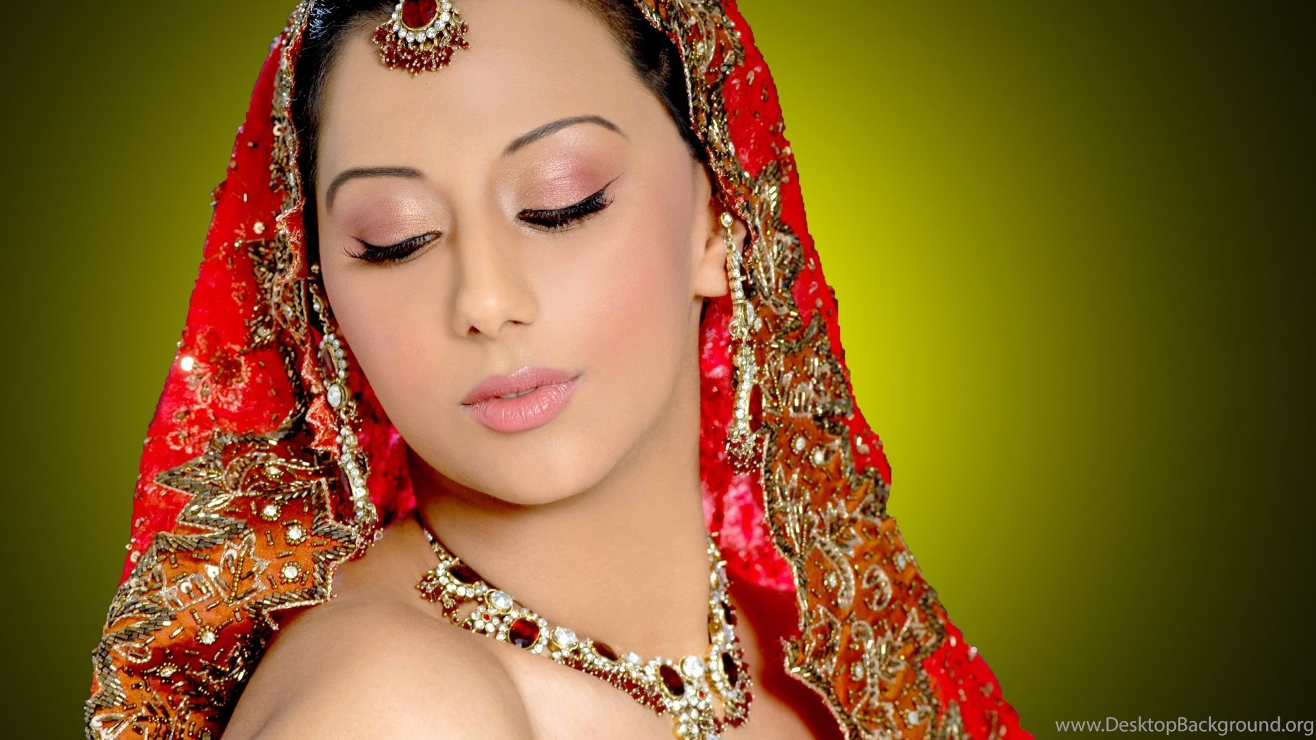 Bride Beauty Indian Girl Wallpapers Desktop Background