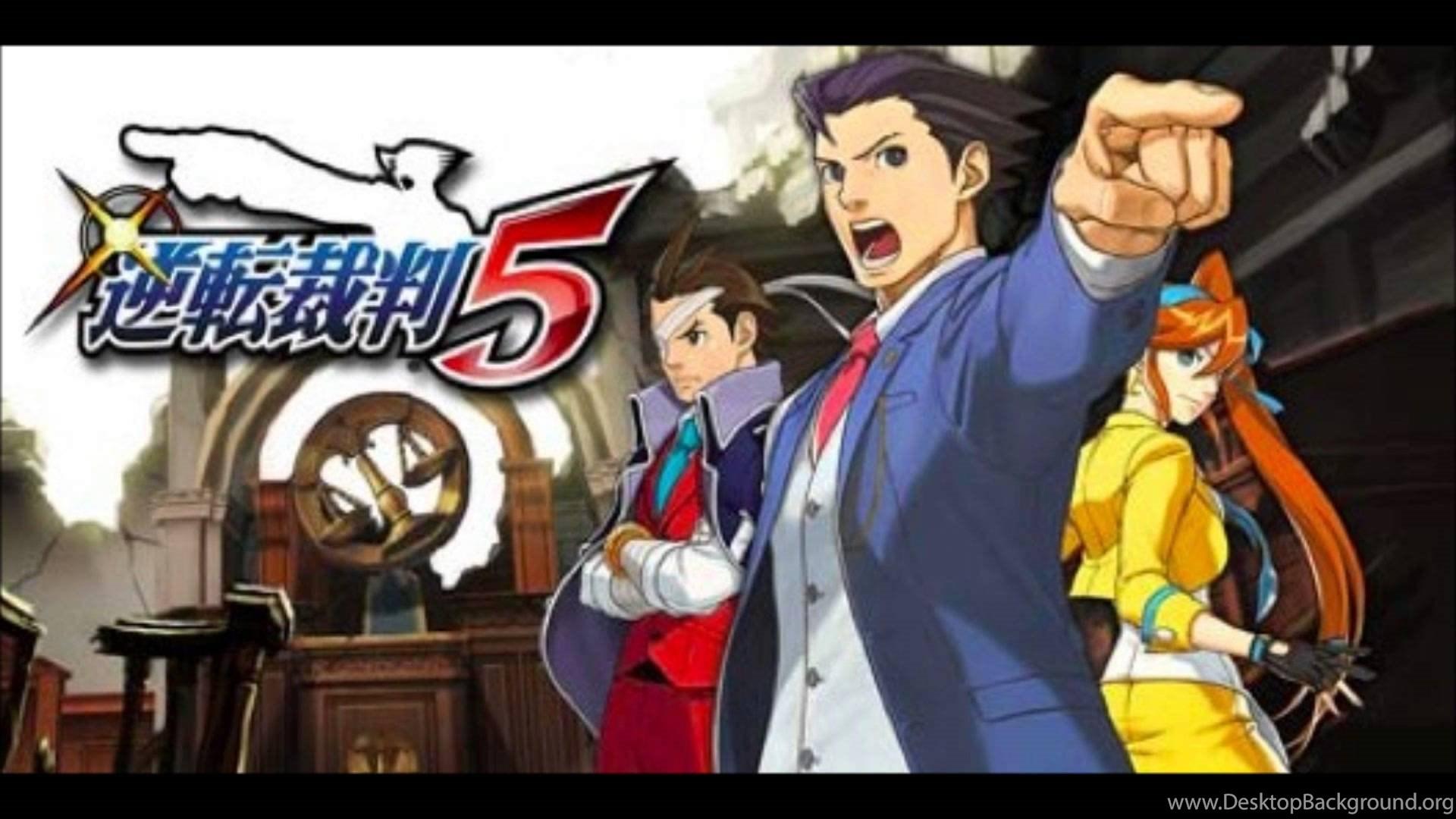 Phoenix Wright Ace Attorney 5 Dual Destinies Demo Soundtrack