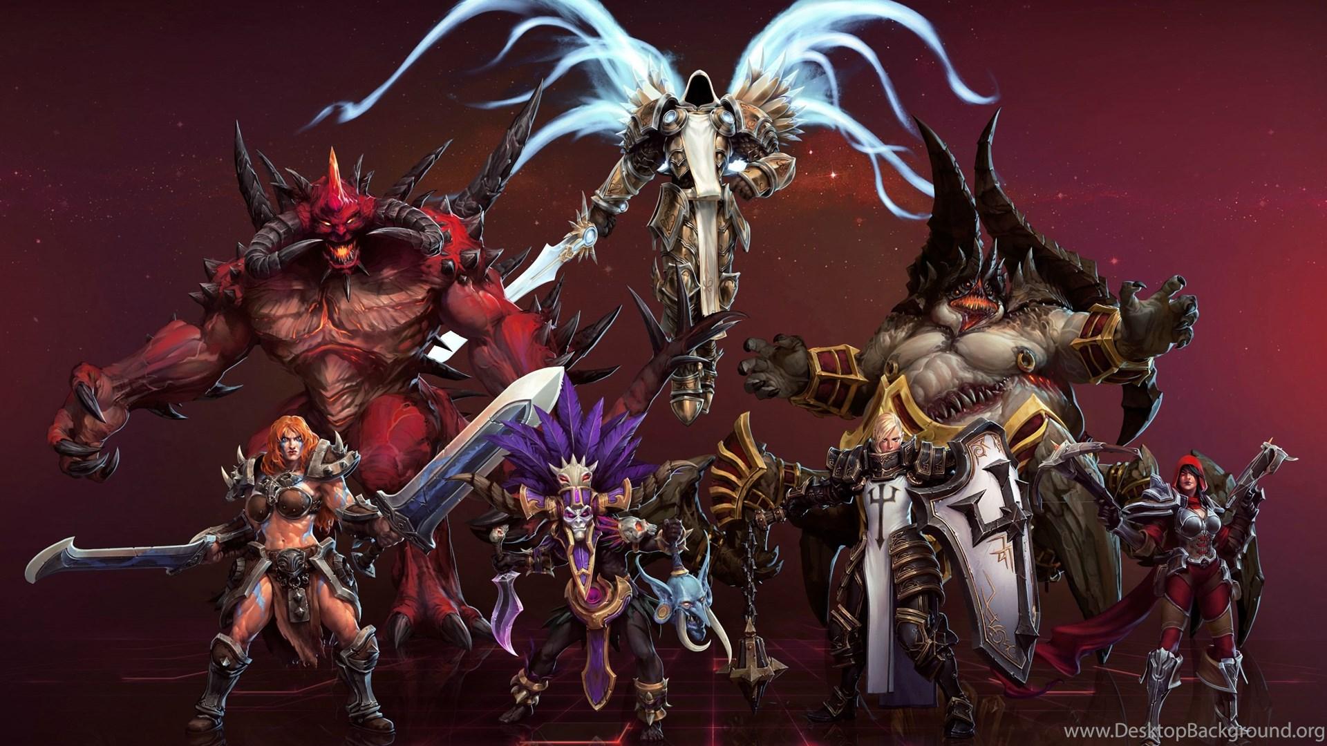 Heroes Of The Storm Wallpapers Hd Backgrounds Download Desktop