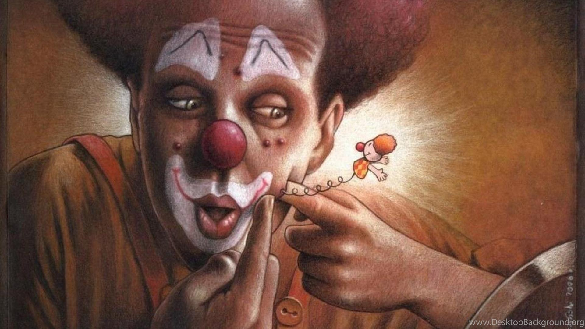Funny Clown Wallpapers Desktop Background