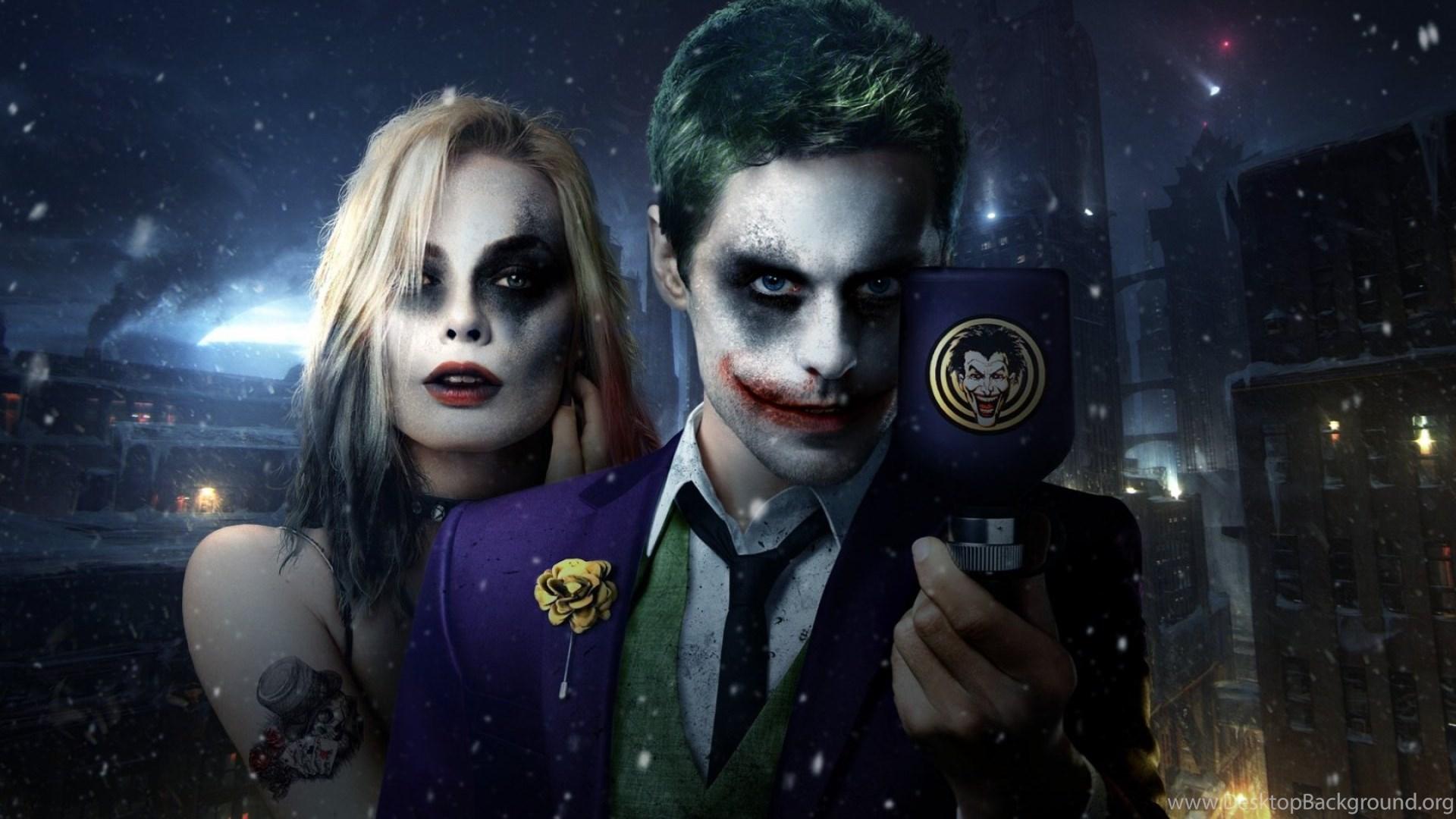 Suicide Squad 2016 Joker And Harley Quinn Wallpapers Desktop
