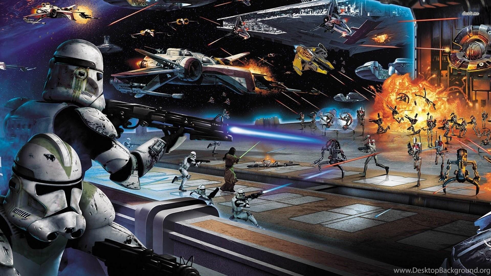 Top Hd Star Wars Battlefront 2 Wallpapers Desktop Background